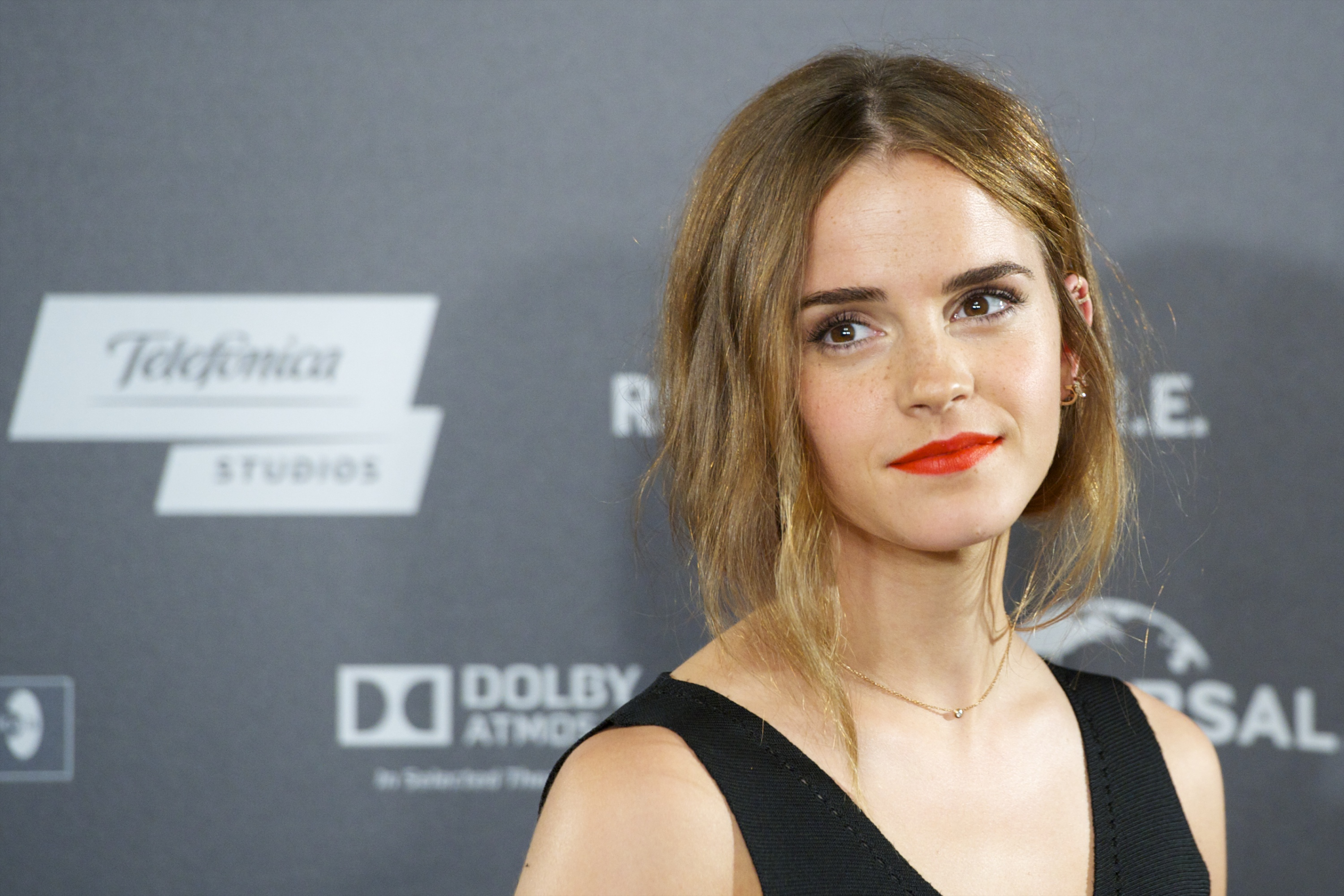 Emma Watson attends the 'Regression' photocall at Villamagna Hotel on Aug. 27, 2015 in Madrid, Spain.