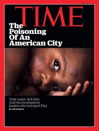 Flint Michigan Water Crisis Time Magazine Cover