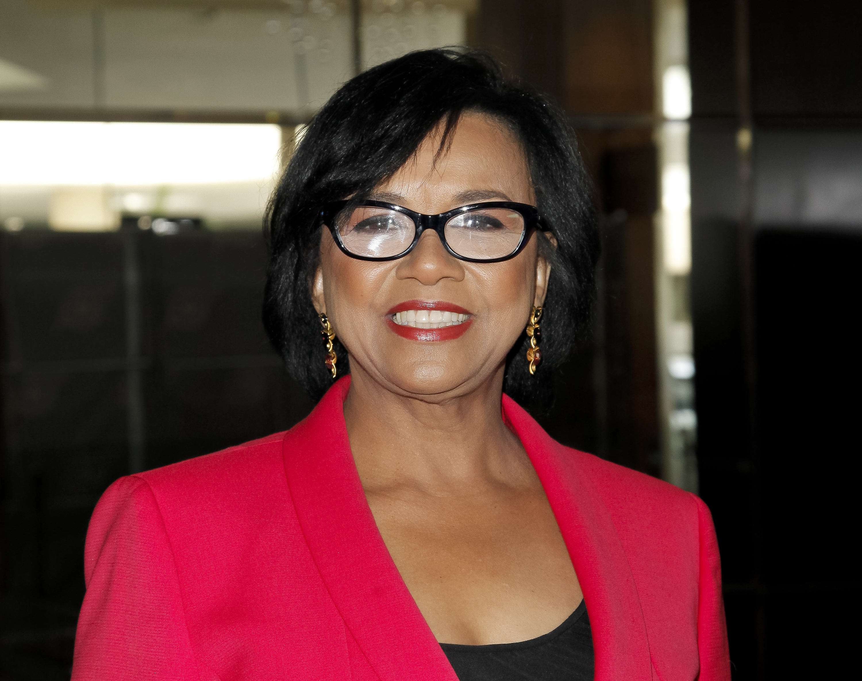 Cheryl Boone Isaacs attends the 52nd annual ICG Publicists Guild awards luncheon at The Beverly Hilton Hotel on Feb. 20, 2015 in Beverly Hills, California.