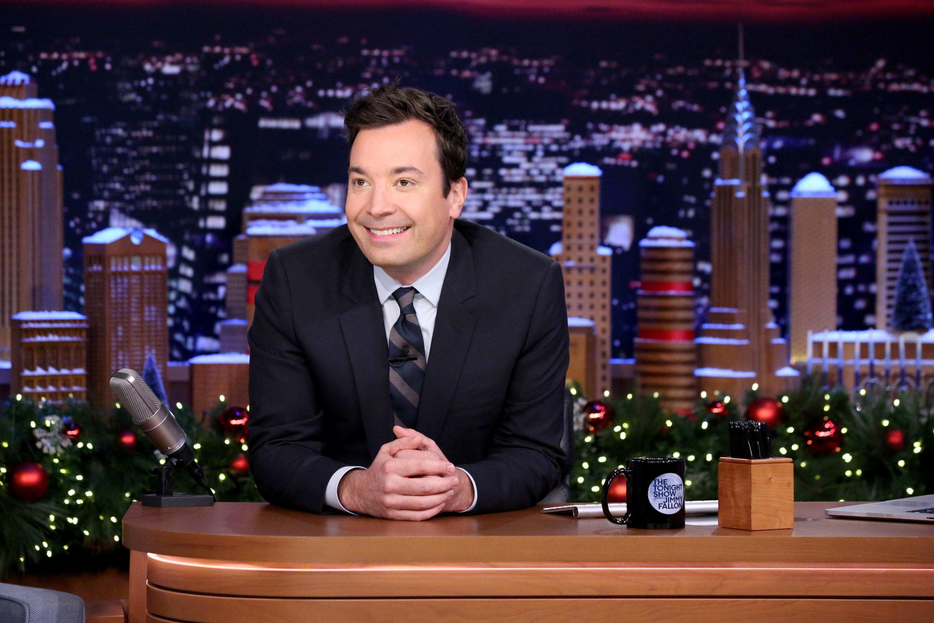 'The Tonight Show' host Jimmy Fallon on Dec. 15, 2015.
