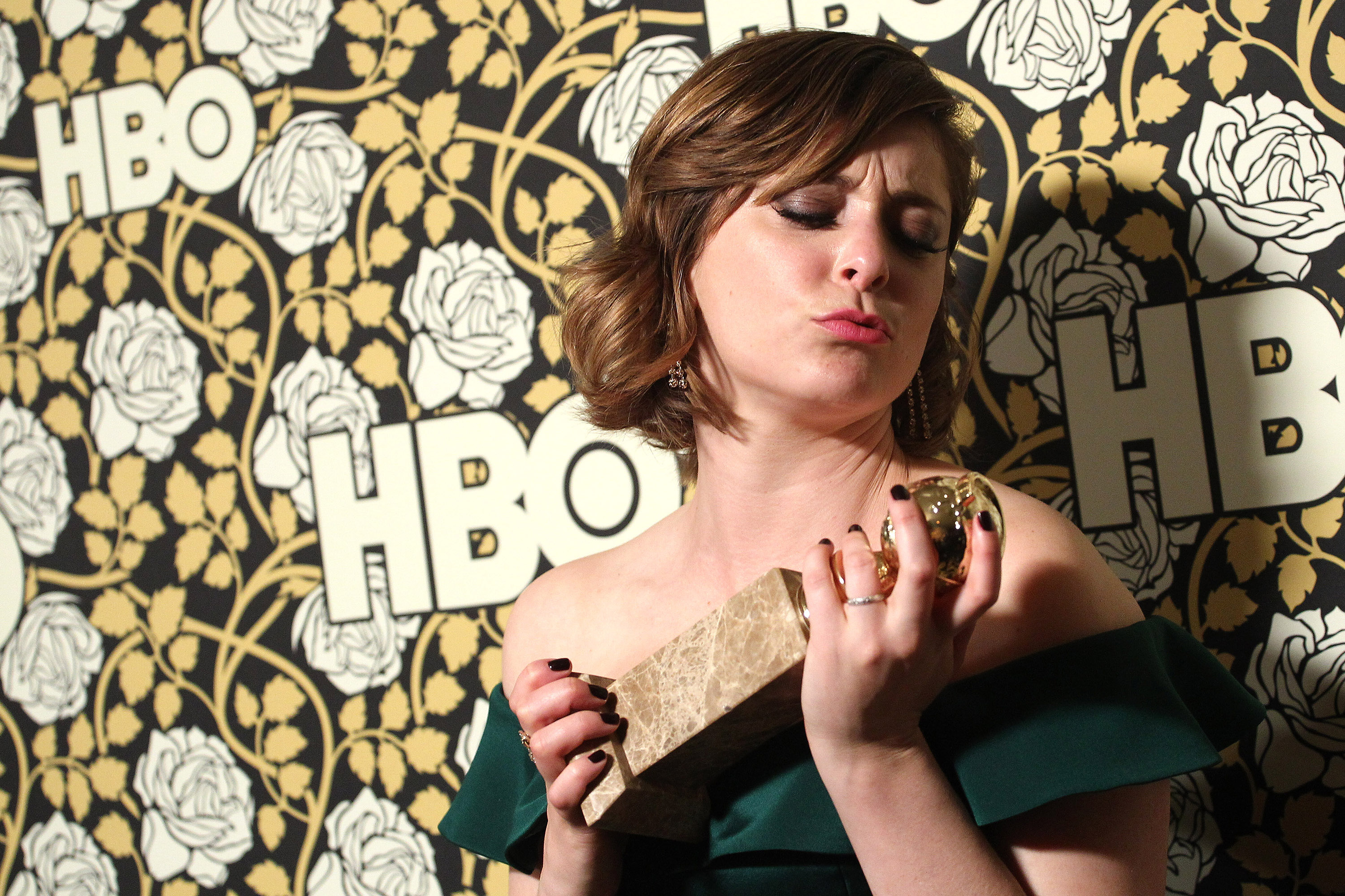 Rachel Bloom attends the HBO's Post 2016 Golden Globe Awards Party held at Circa 55 Restaurant on Jan. 10, 2016, in Los Angeles