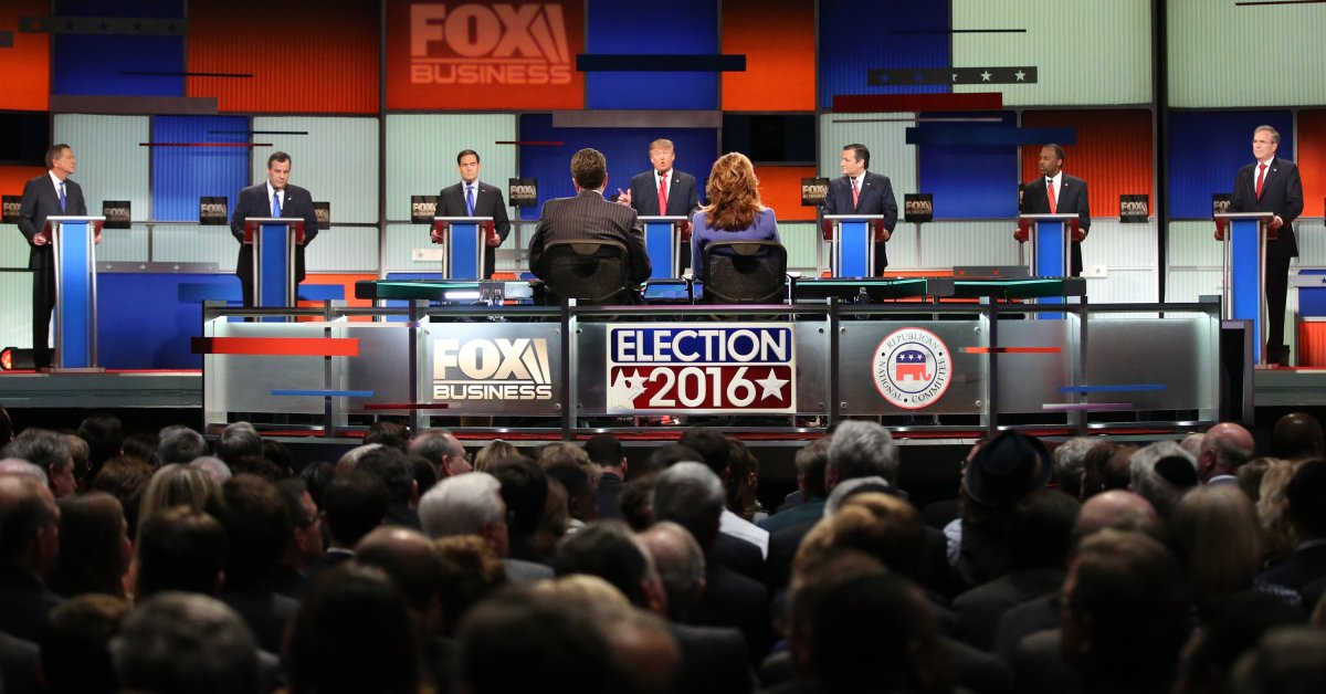what time is the debate on tv in california