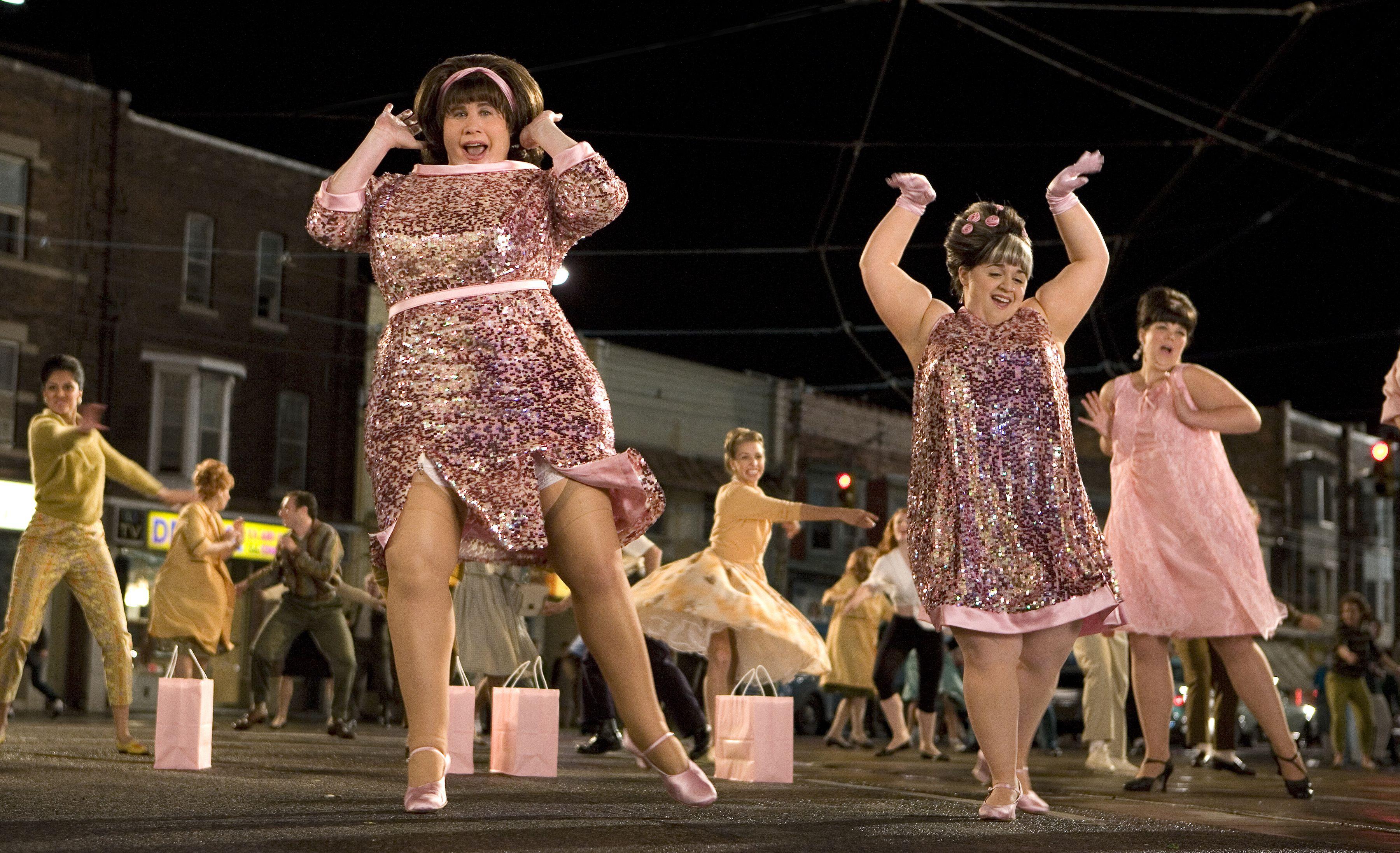 John Travolta & Nikki Blonsky in Hairspray, 2007