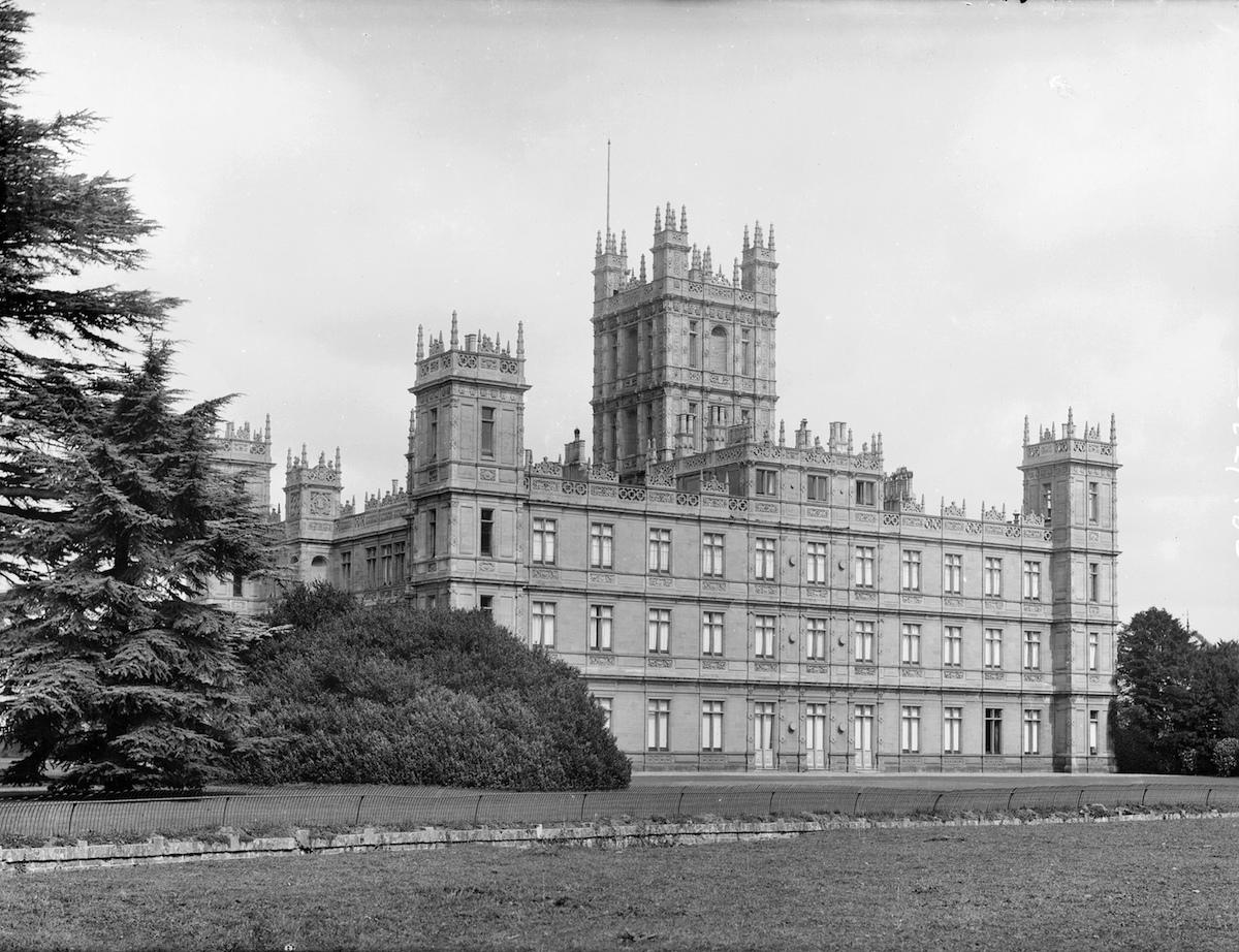 Highclere Castle, Highclere, Hampshire, c1860-c1922.