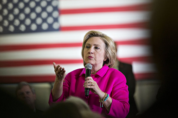 Hillary Clinton, former Secretary of State and 2016 Democratic presidential candidate, speaks during an event in Cedar Rapids, Iowa, U.S., on Monday, Jan. 4, 2016.