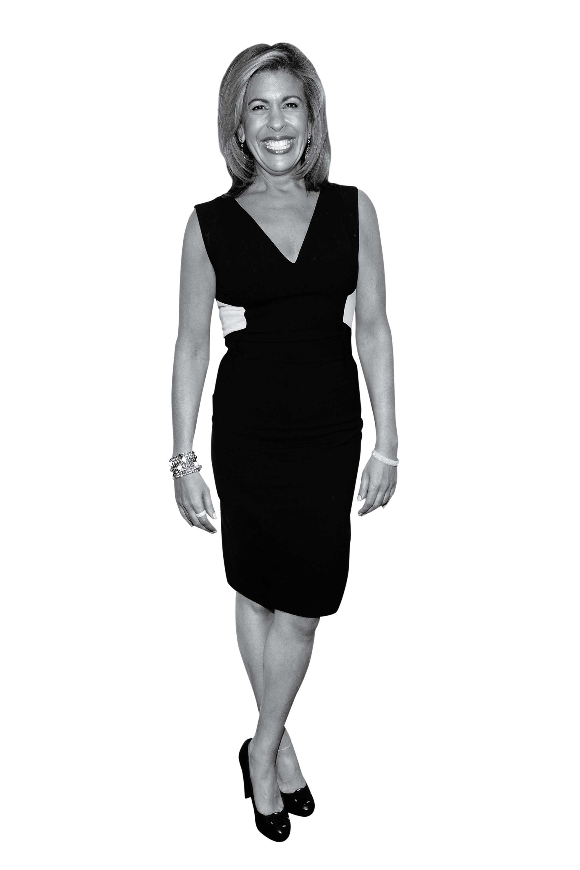 Hoda Kotb The co-host of the Today show's fourth hour talks about her new book, Where We Belong, career paths and how to drink wine on television