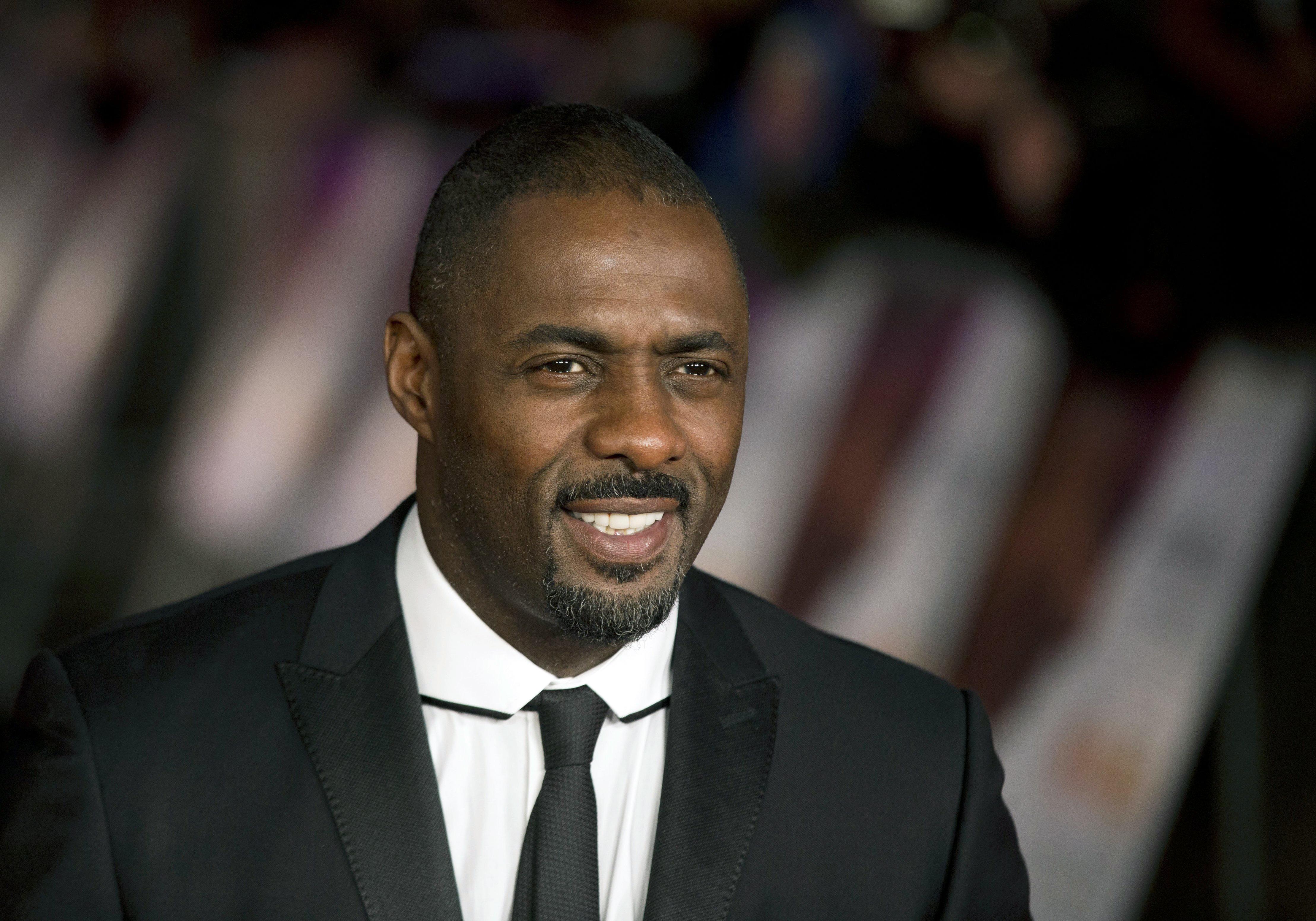 British actor Idris Elba in London.
