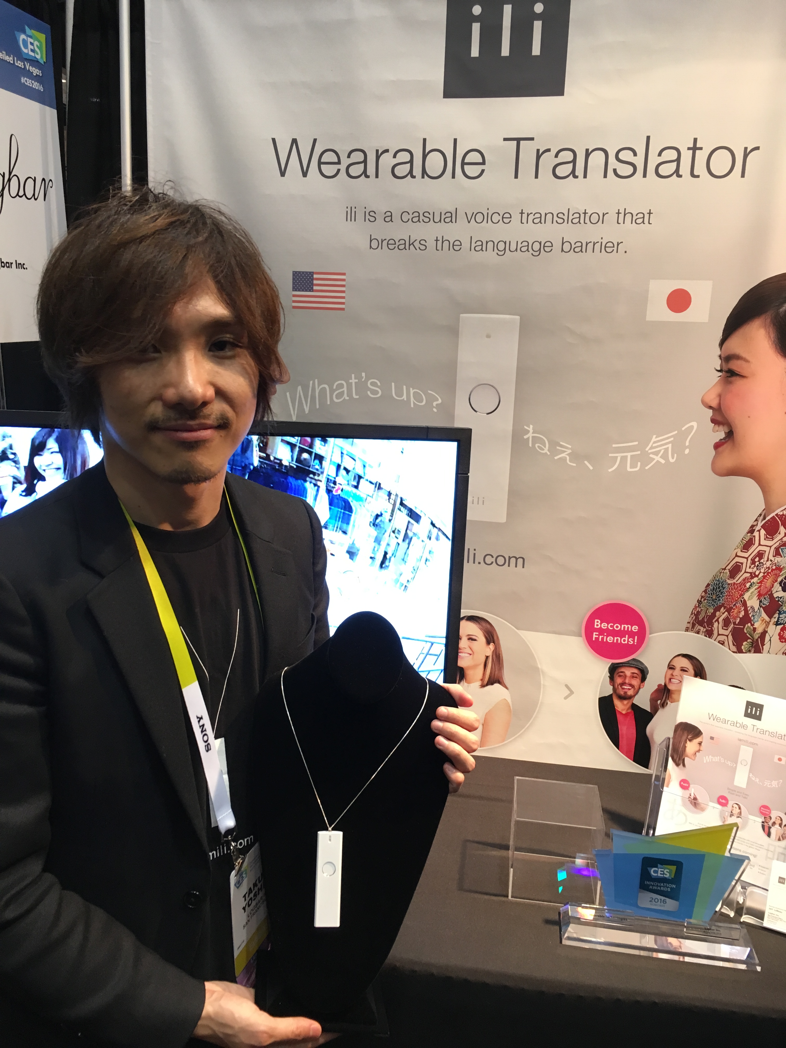 ili Wearable Translator