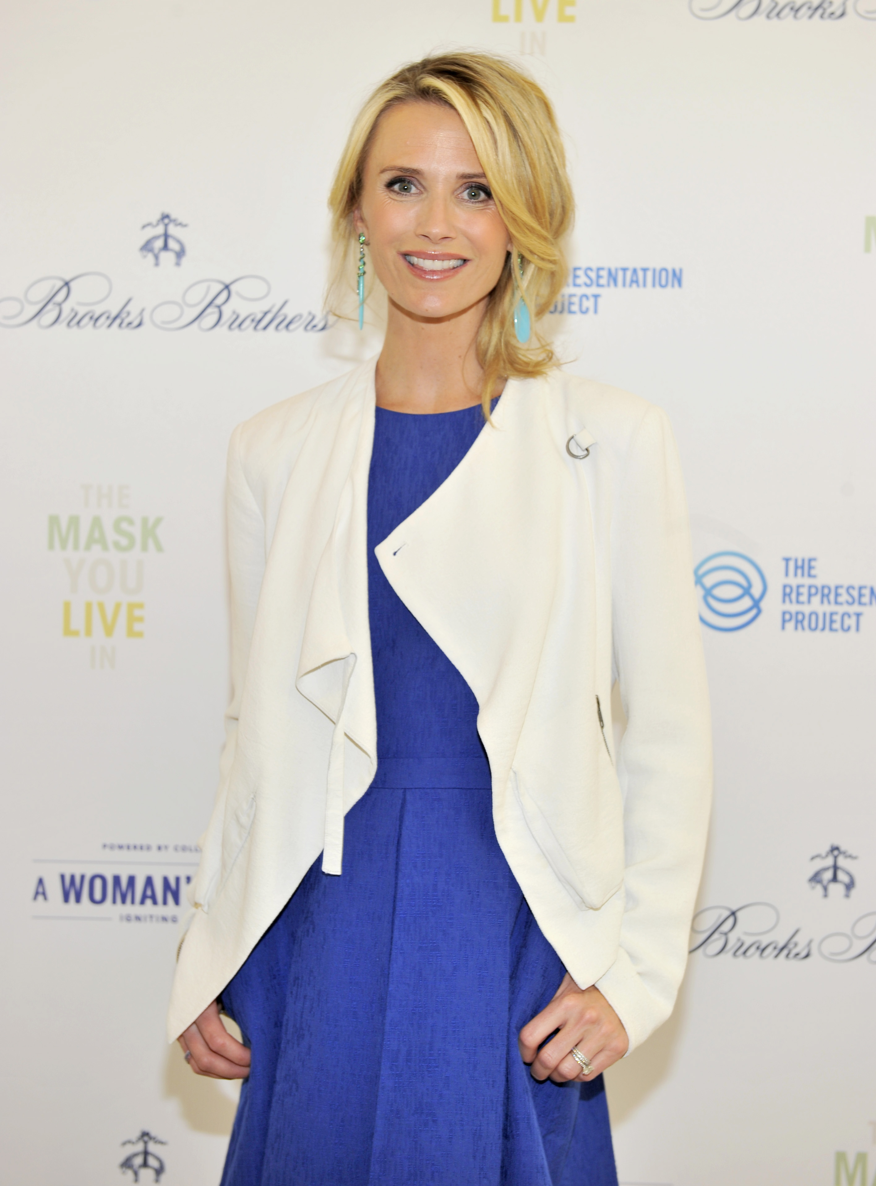 Director Jennifer Siebel Newsom attends as Brooks Brothers presents  The Mask You Live In  Los Angeles premiere at the Paley Center on April 23, 2015 in Beverly Hills, California.