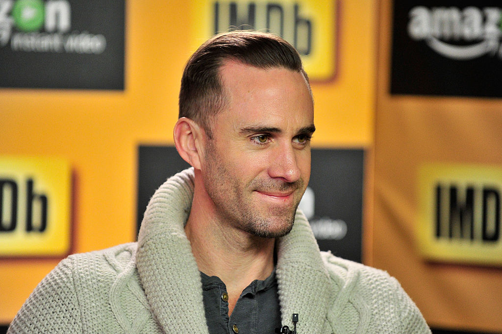 Joseph Fiennes in Park City, Utah, on Jan. 24.