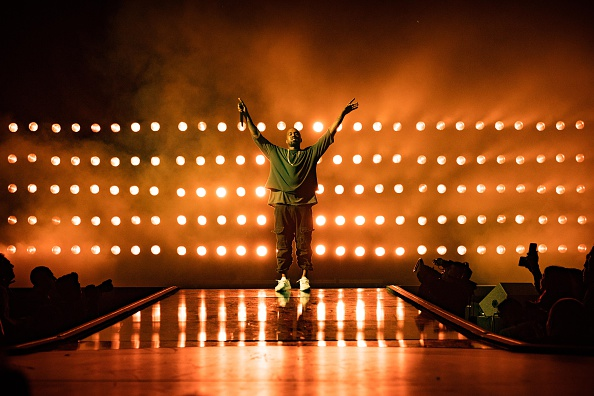Kanye West at the 2015 iHeartRadio Music Festival on Sept. 18, 2015 in Las Vegas, Nevada.