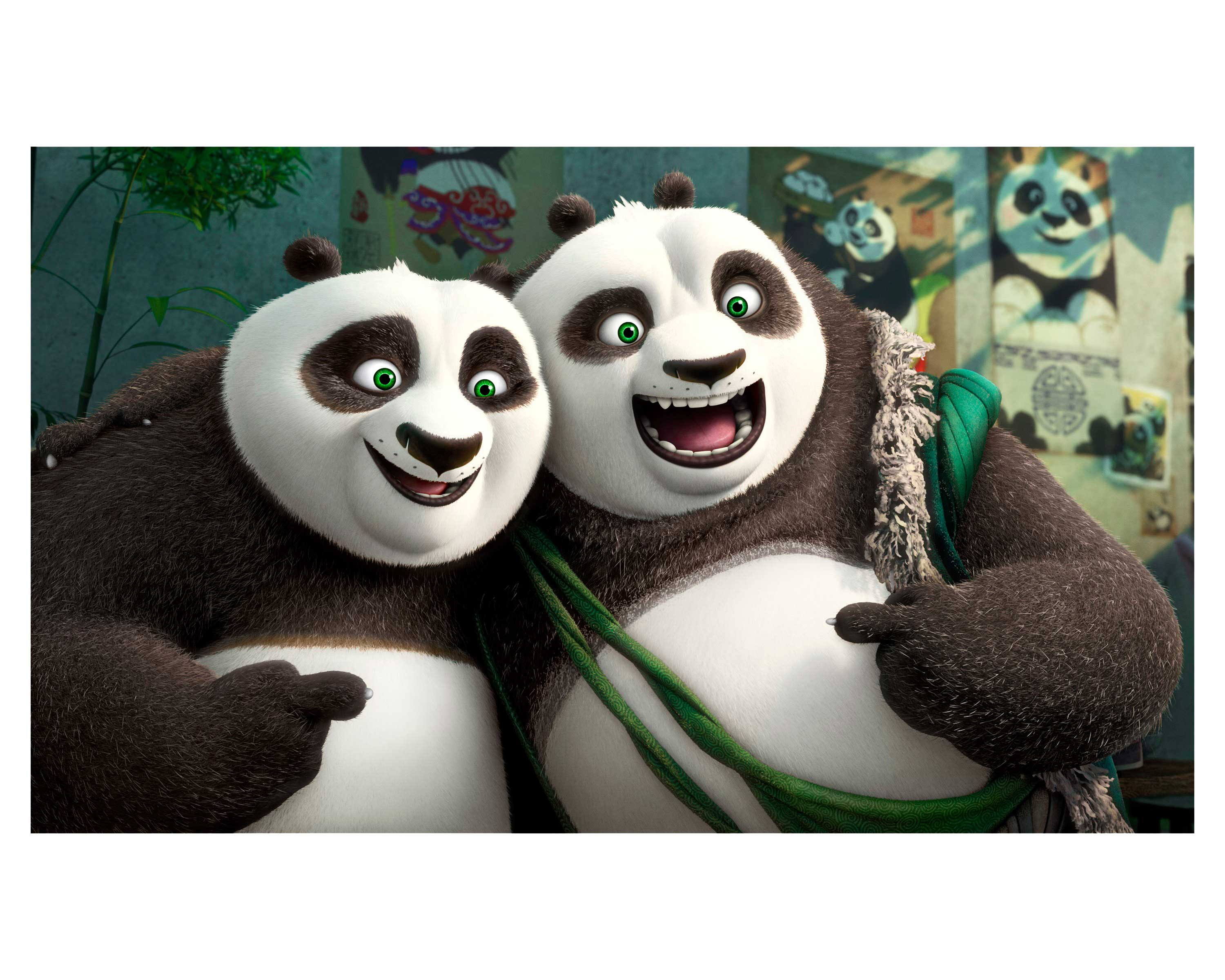 It takes an adorable village to fight evil in Kung Fu Panda3