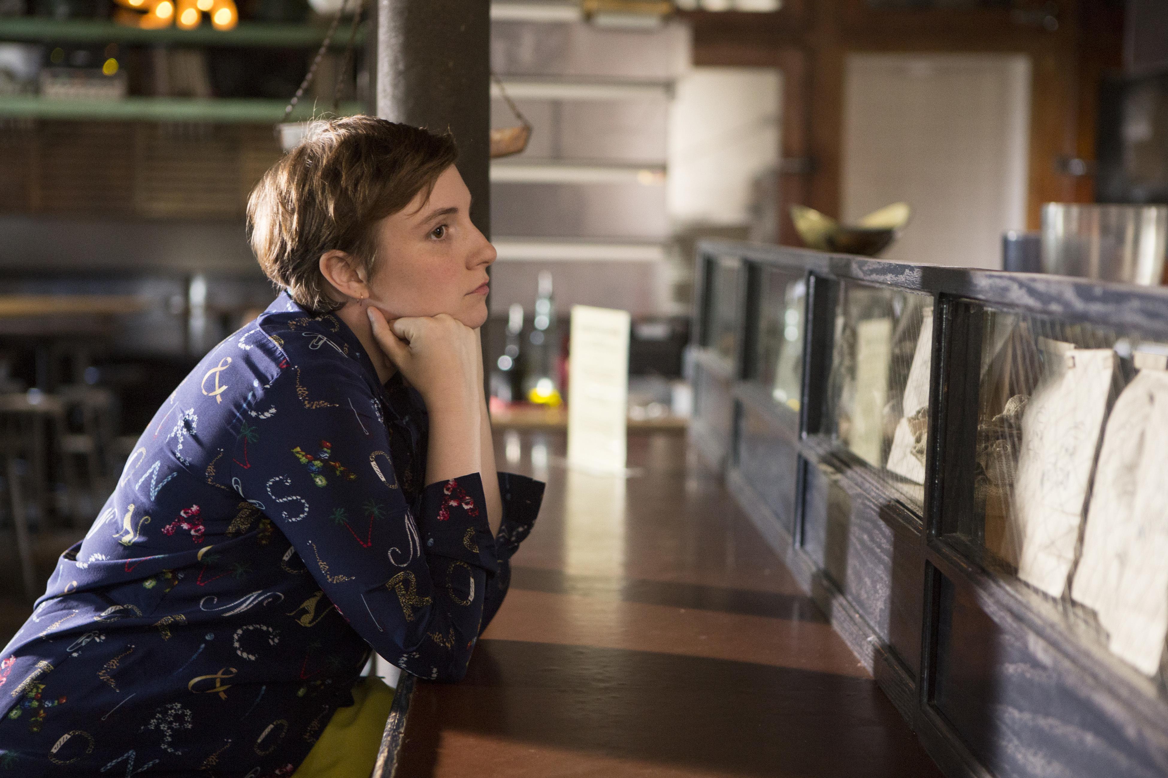 Lena Dunham in Girls, Season 5, 2016.