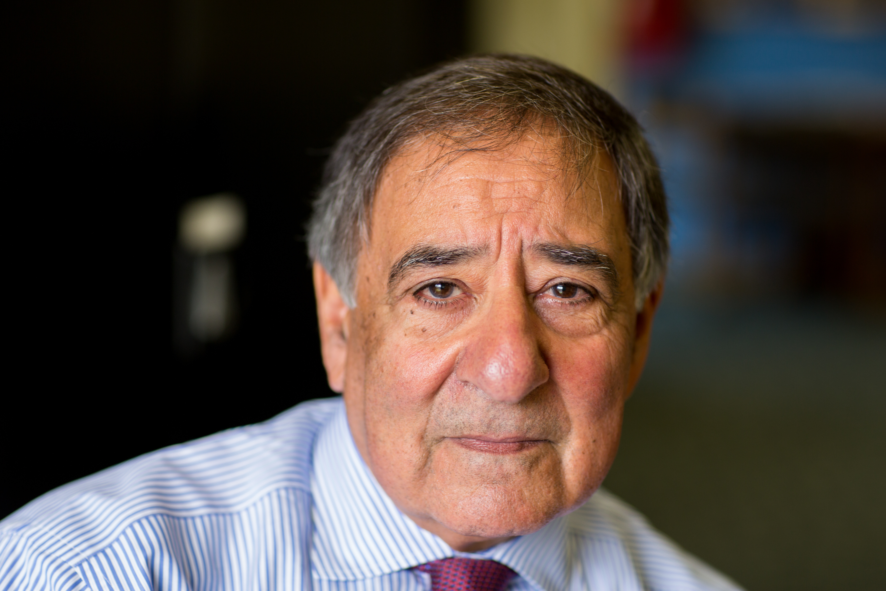 Leon Panetta at the Panetta Institute in Seaside, CA on July 31, 2015.