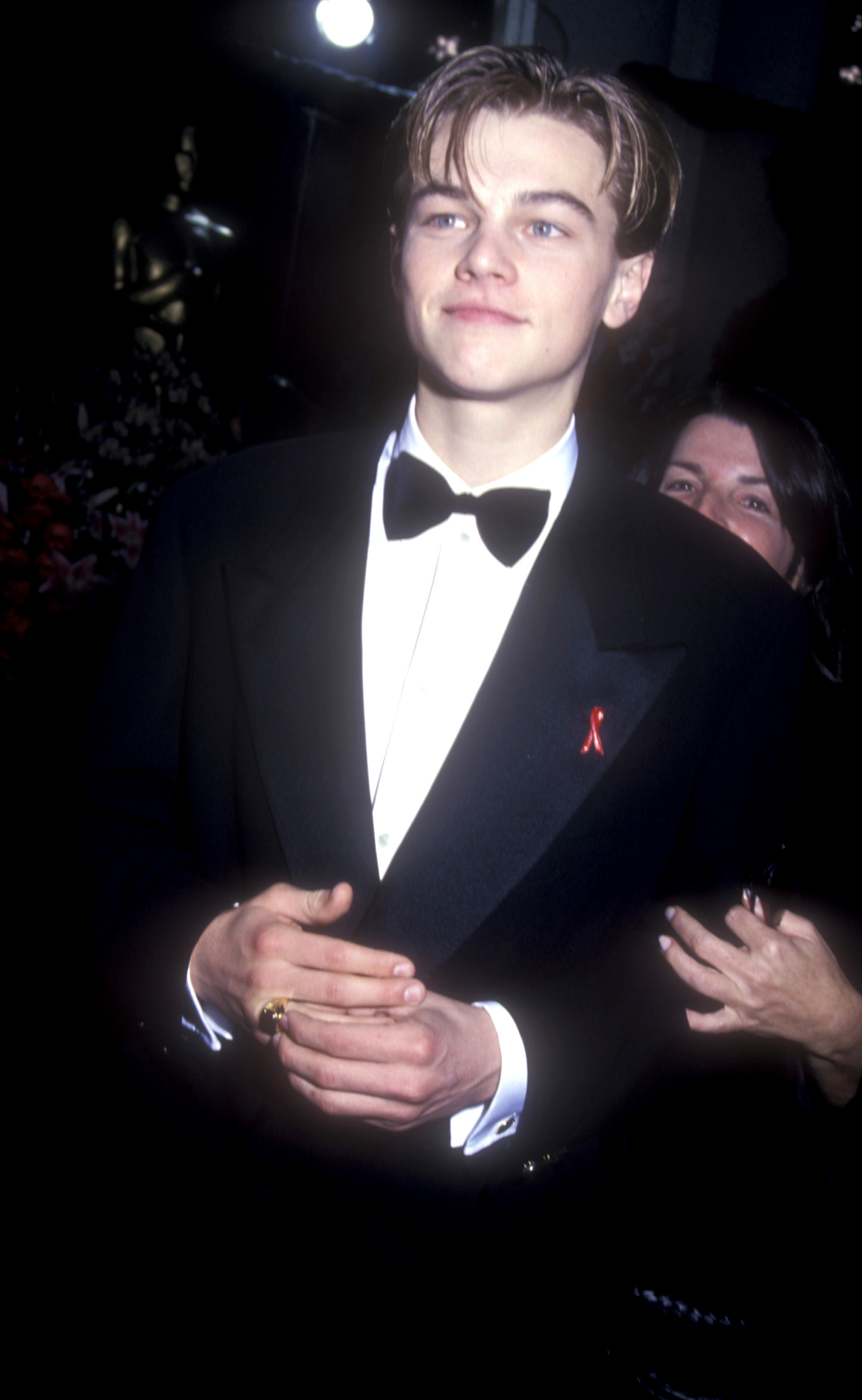Leonardo DiCaprio during the 66th Annual Academy Awards in Los Angeles on March 21, 1994.
