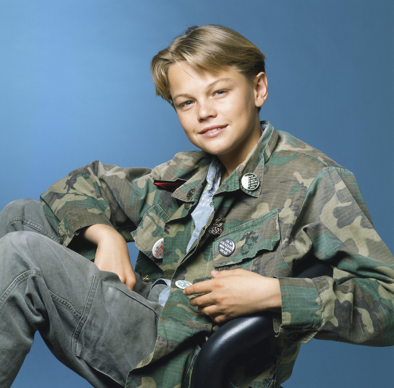 Leonardo DiCaprio in a promotional still for <i>Parenthood</i>, c. 1990.