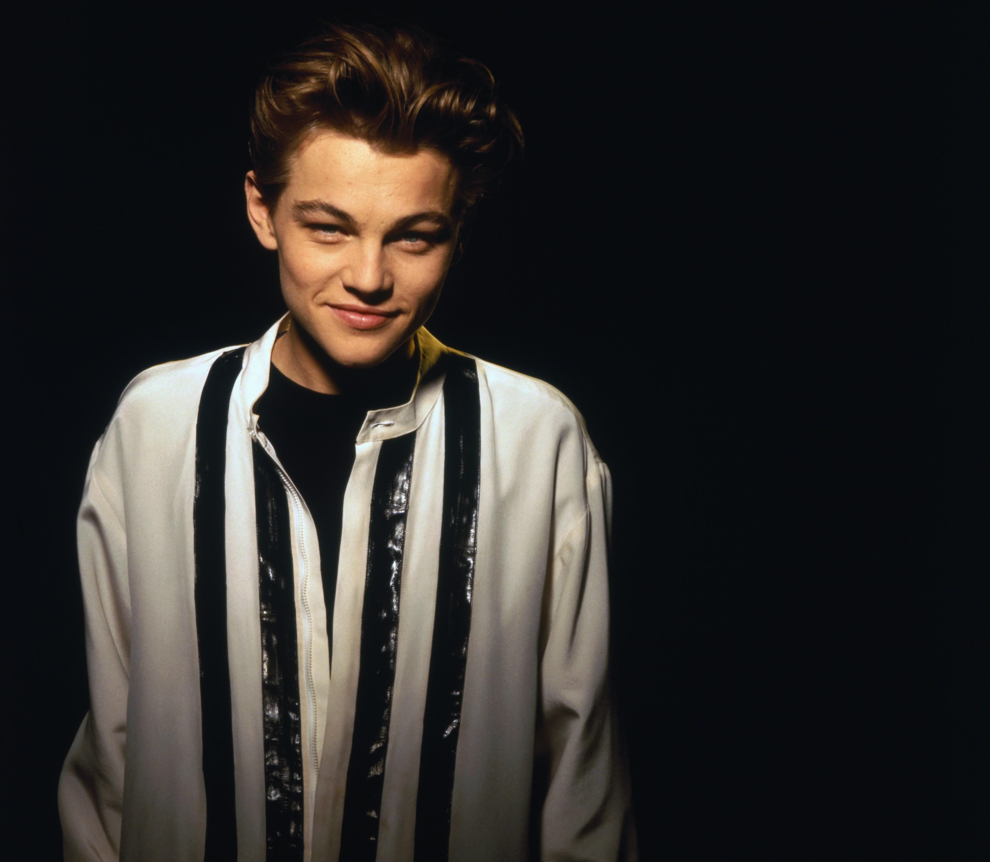 Leonardo DiCaprio in 1994.