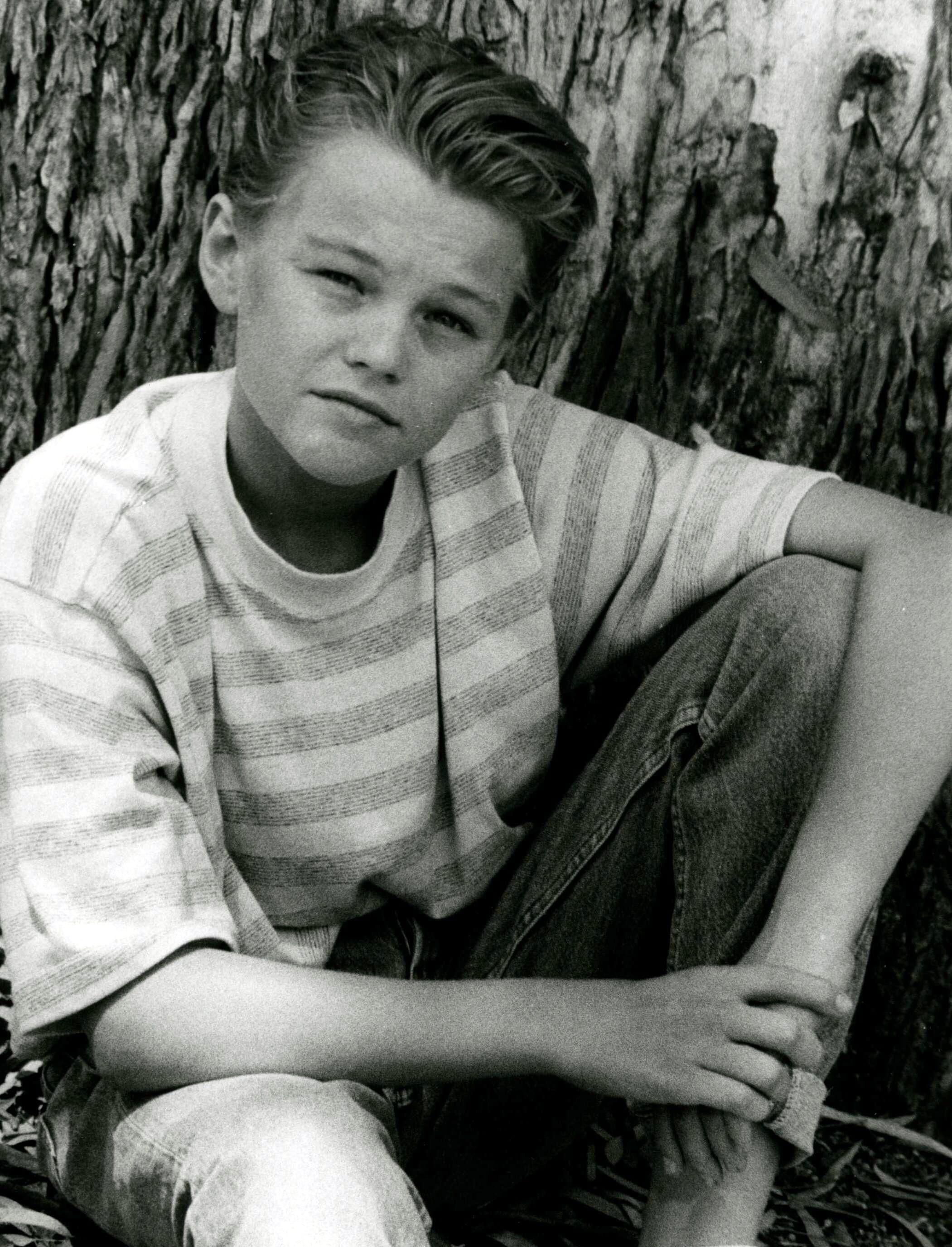 Leonardo DiCaprio in Los Angeles in Aug. 1990.