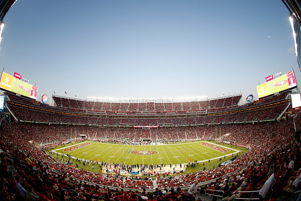 Levi's Stadium in Santa Clara, Calif., where Super Bowl 50 will take place on Feb. 7, 2016.