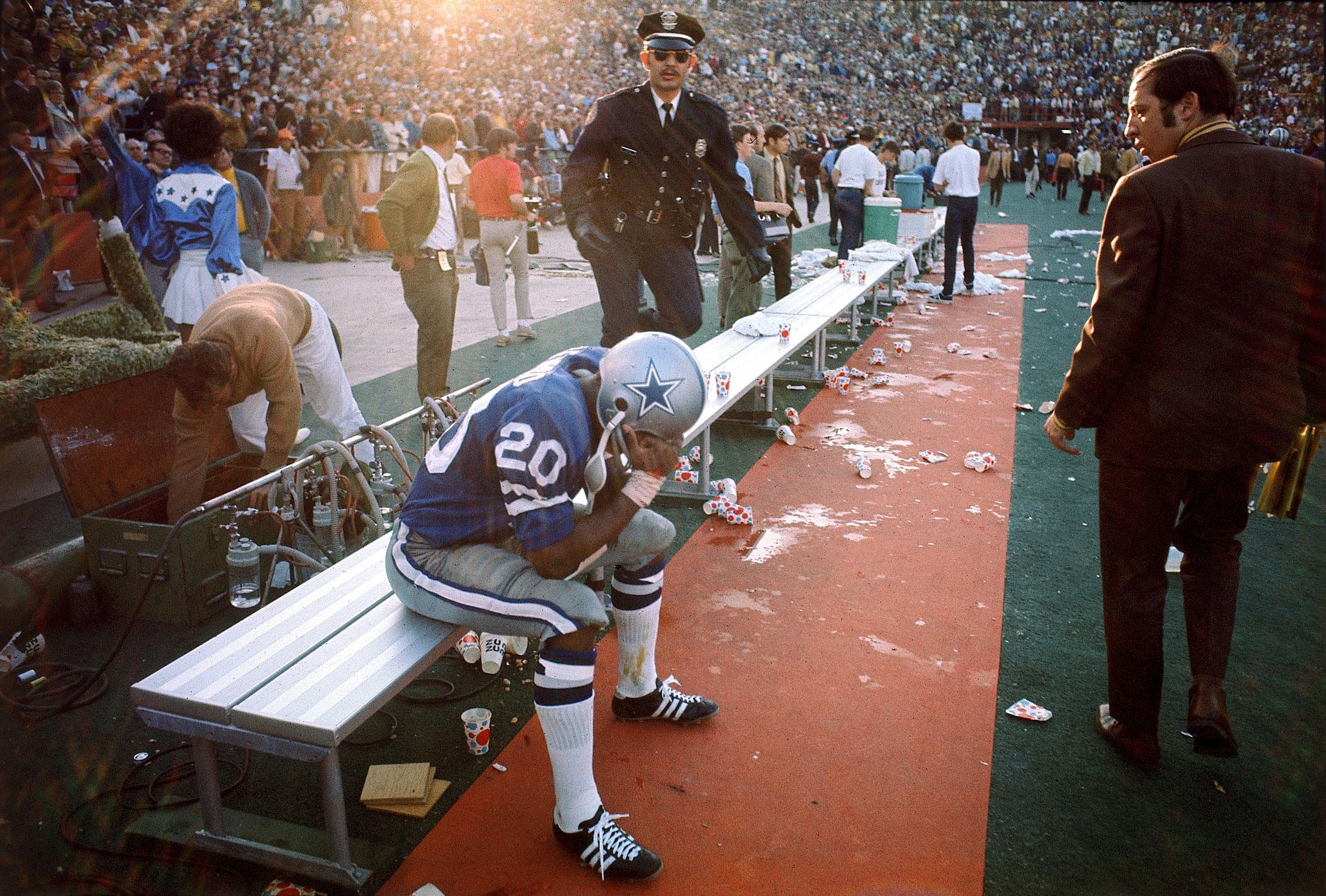 Super Bowl V, Jan. 17, 1971                               Dallas Cowboys vs Baltimore Colts in Miami