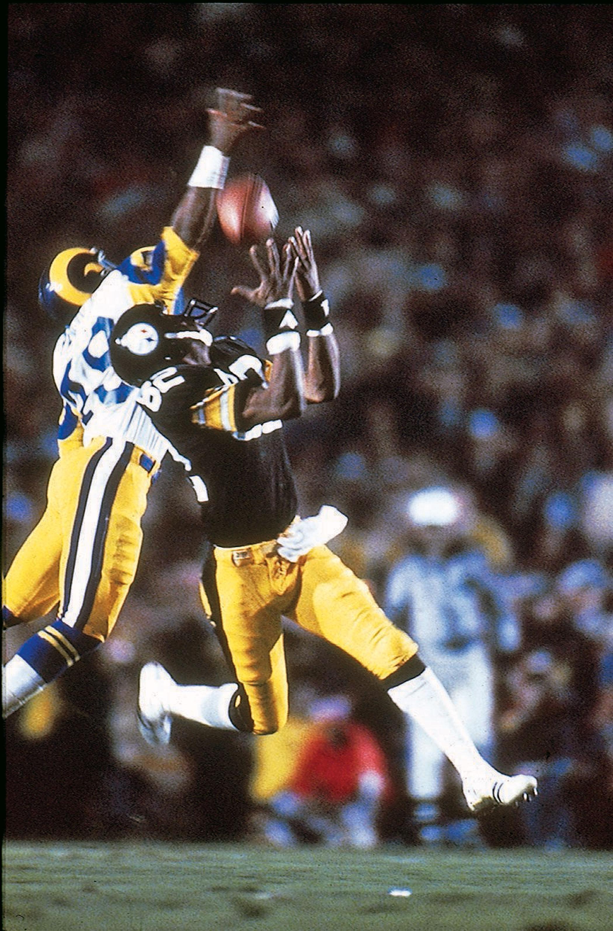 Super Bowl XIV, Jan. 20, 1980                               Pittsburgh Steelers vs Los Angeles Rams in Pasadena, Calif.