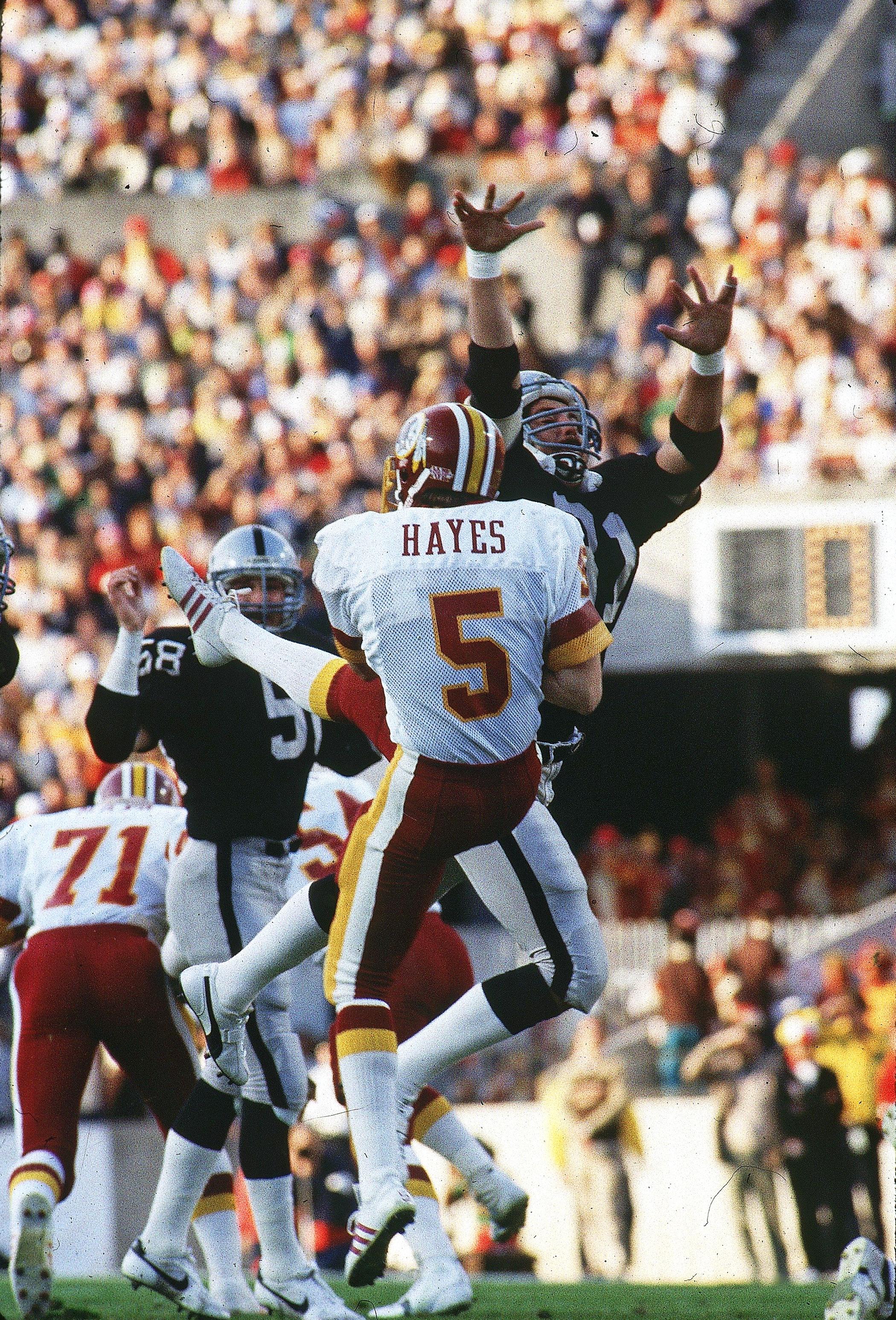 Super Bowl XVIII, Jan. 22, 1984                               Los Angeles Raiders vs Washington Redskins in Tampa, Fla.