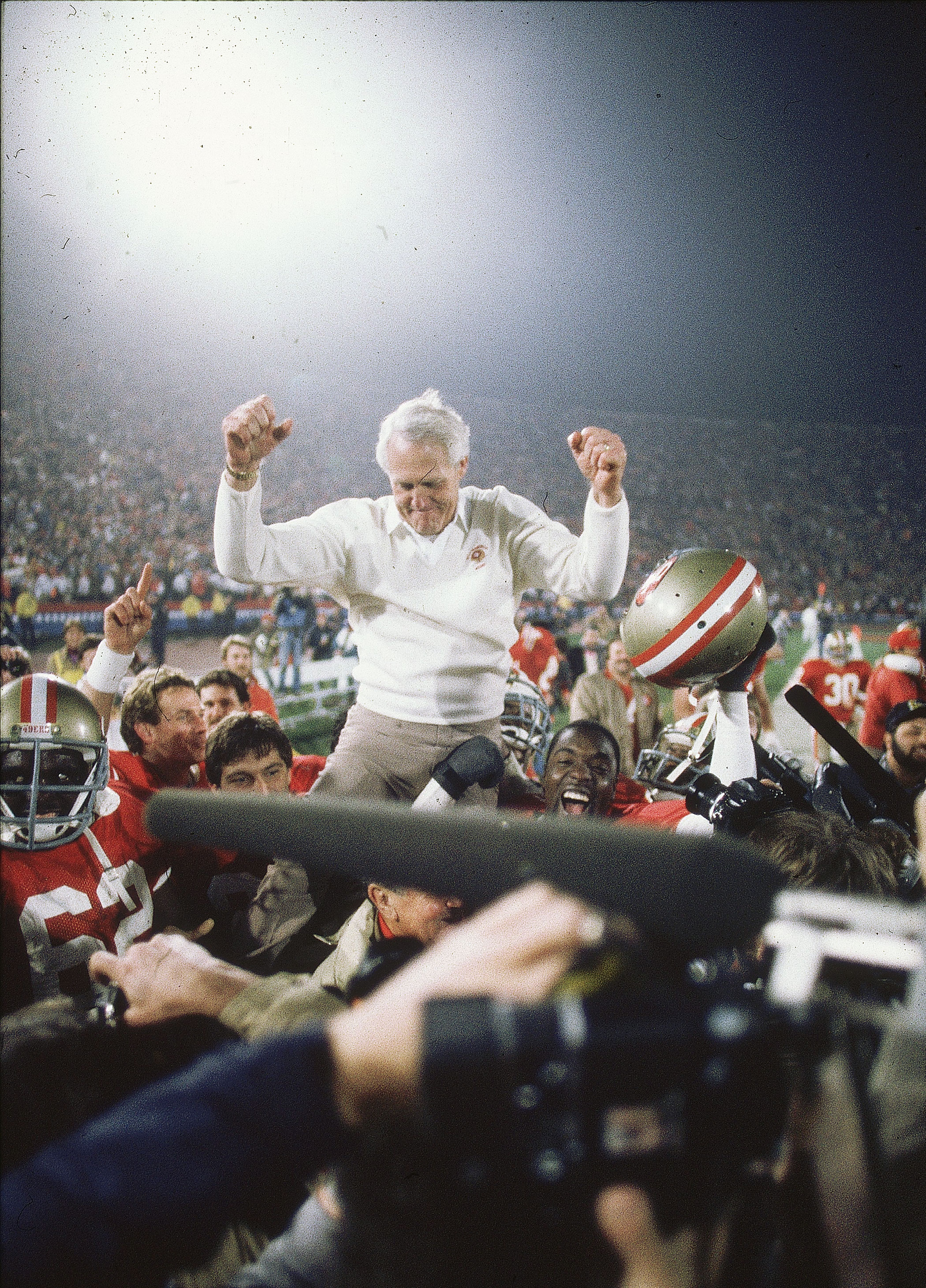 Super Bowl XIX, Jan. 20, 1985                               San Francisco 49ers vs Miami Dolphins in Stanford, Calif.