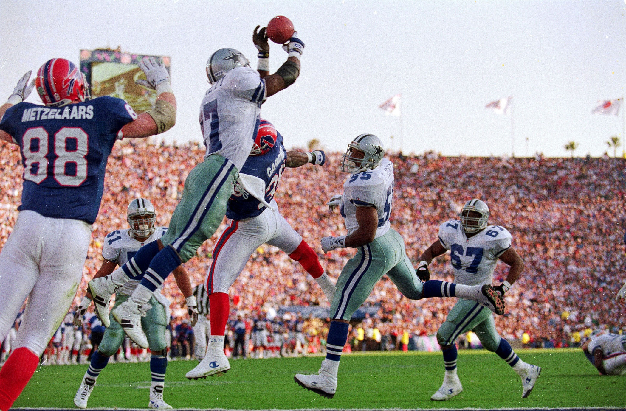 Super Bowl XXVII, Jan. 31, 1993                               Dallas Cowboys vs Buffalo Bills