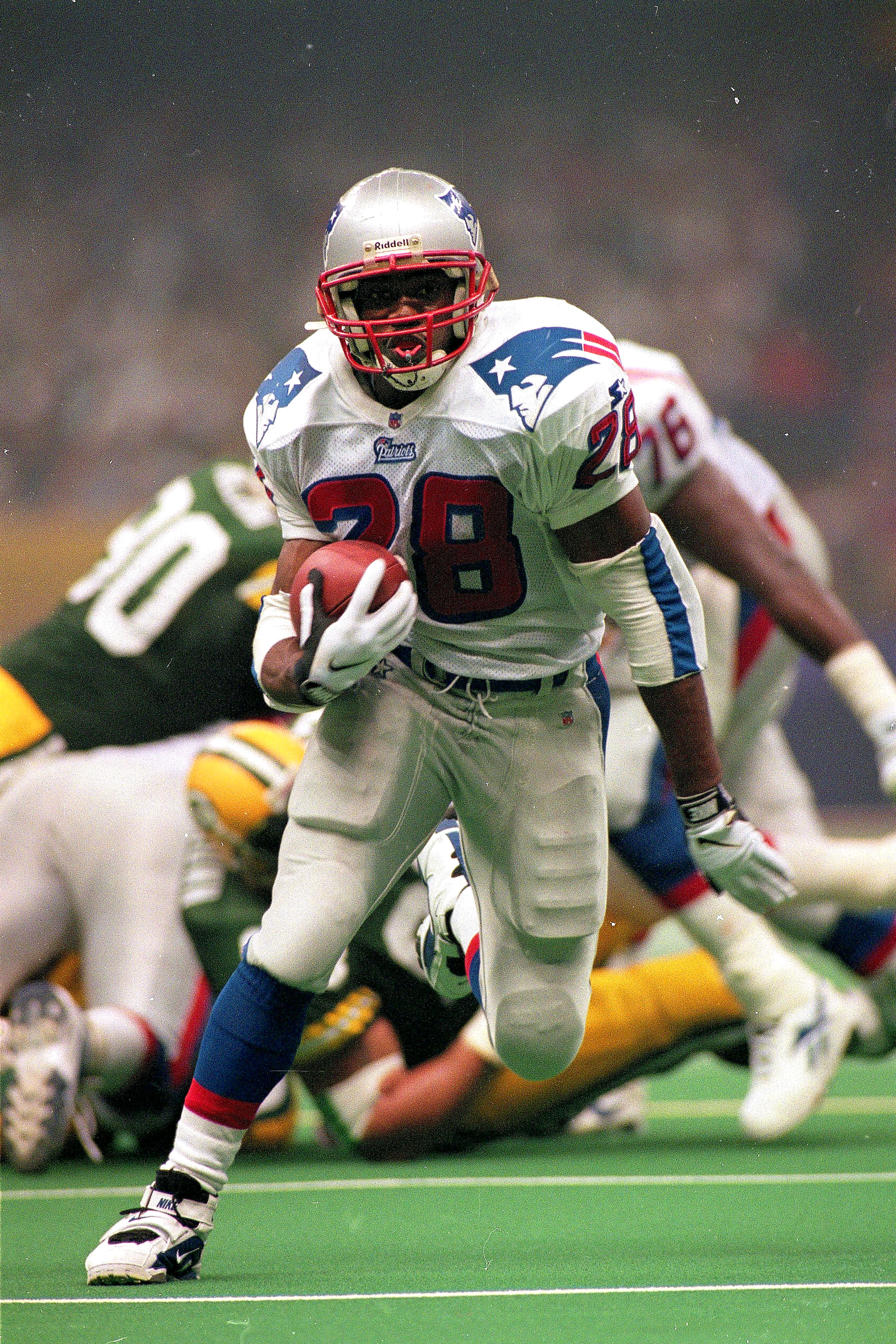 Super Bowl XXXI, Jan. 26, 1997                               New England Patriots vs. Green Bay Packers in New Orleans