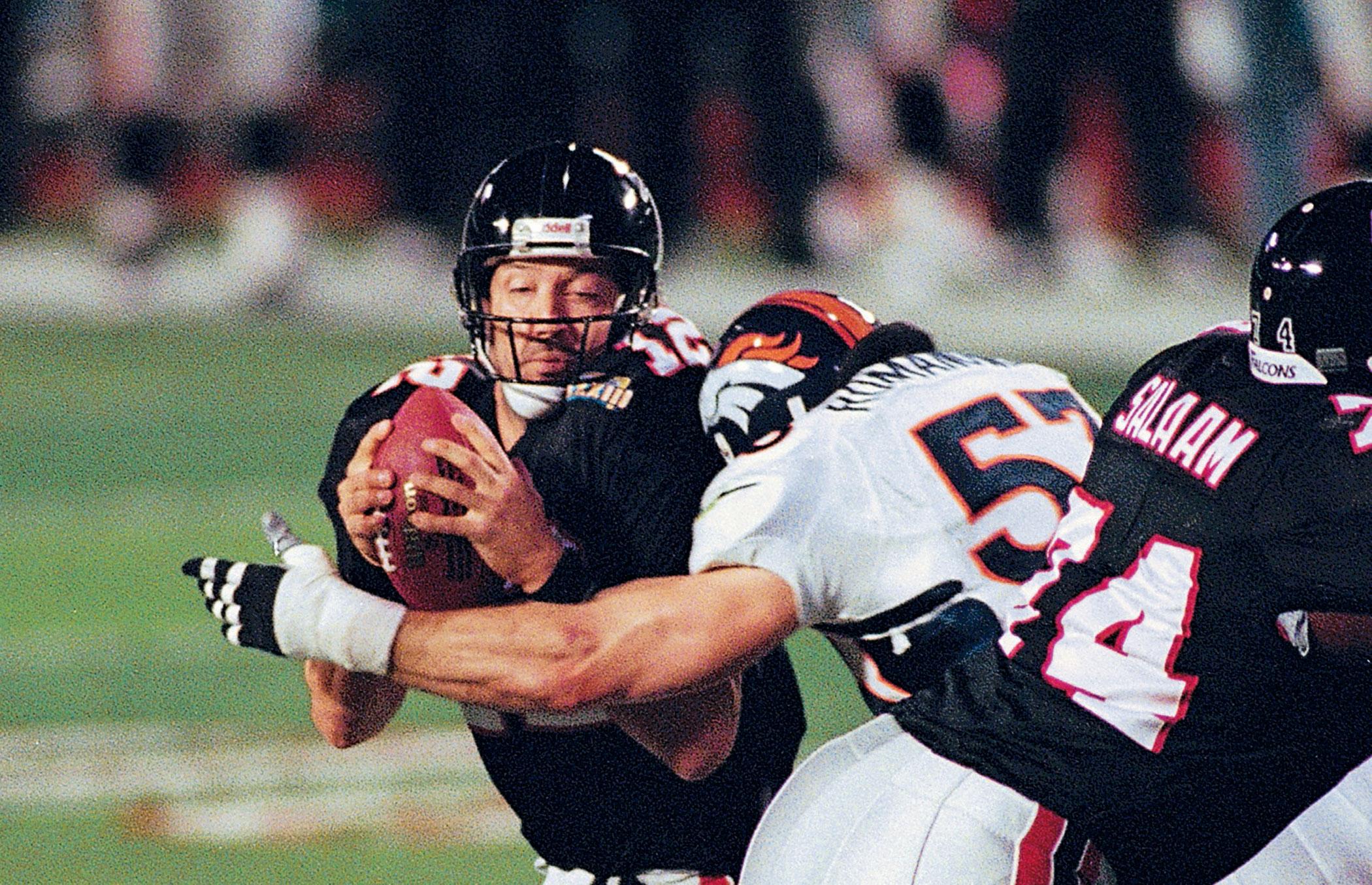 Super Bowl XXXIII, Jan, 31, 1999                               Denver Broncos vs Atlanta Falcons in Miami