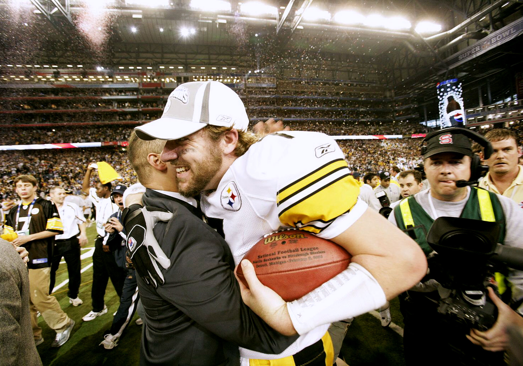 Super Bowl XL, Feb. 5, 2006                               Pittsburgh Steelers vs Seattle Seahawks in Detroit