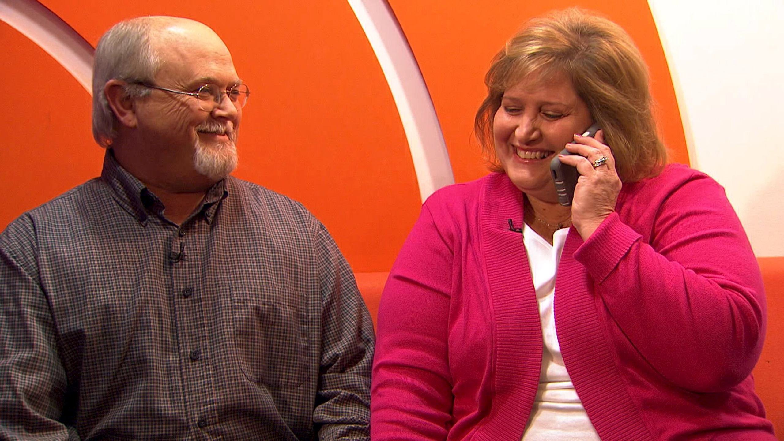 Lisa and John Robinson of Munford, Tennessee appear on NBC News's TODAY Show in New York on Jan. 15, 2016.