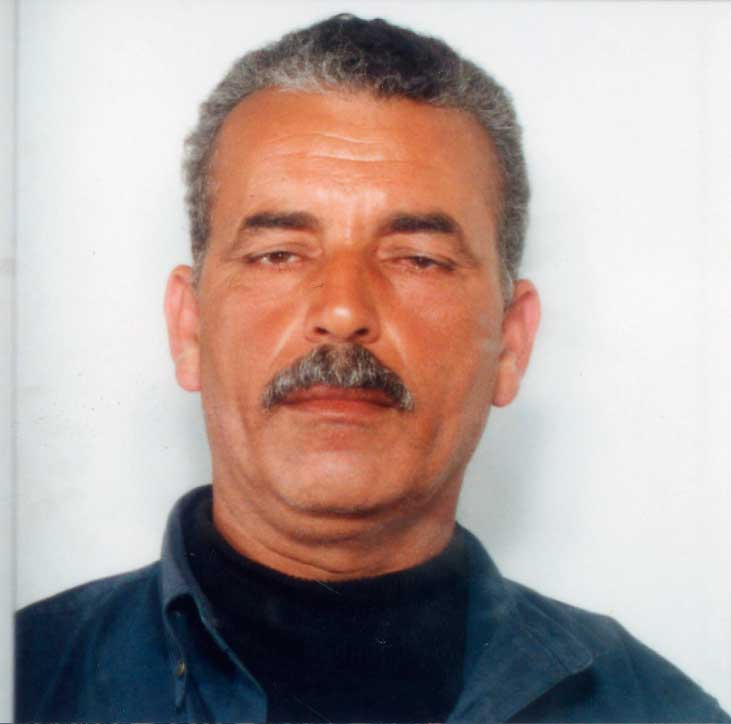 Arafa Badawi, 51, Egyptian smuggler said to have arranged refugee crossings to Europe with Greco. Egypt rejected Italy's request for his extradition; he was murdered in Egypt in 2012. Italian police received this ID photo from Egyptian authorities, Feb. 4, 2011.