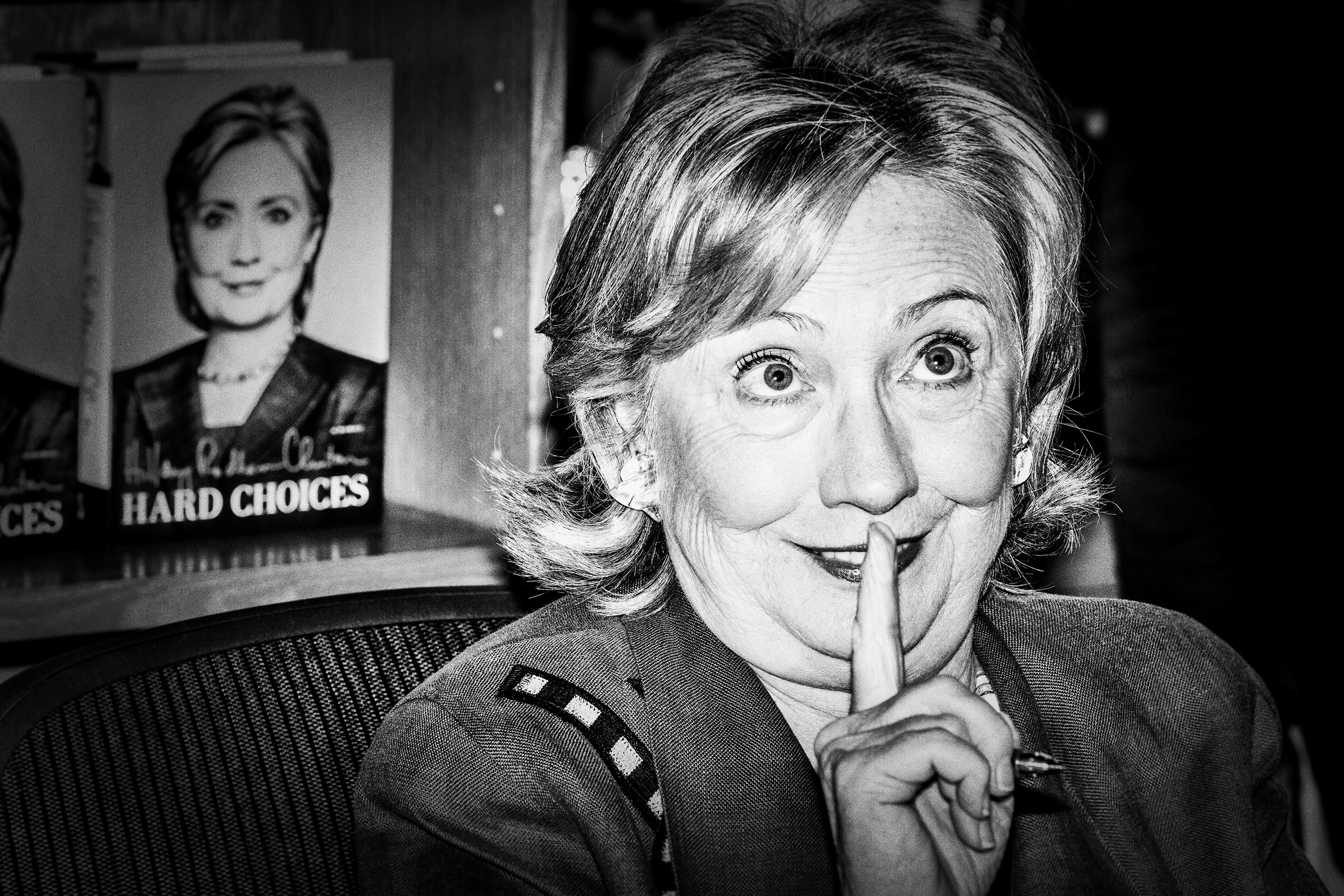 Former First Lady and former Secretary of State Hillary Clinton signs copies of her book  Hard Choices  in East Hampton, NY on Aug. 16, 2014.
