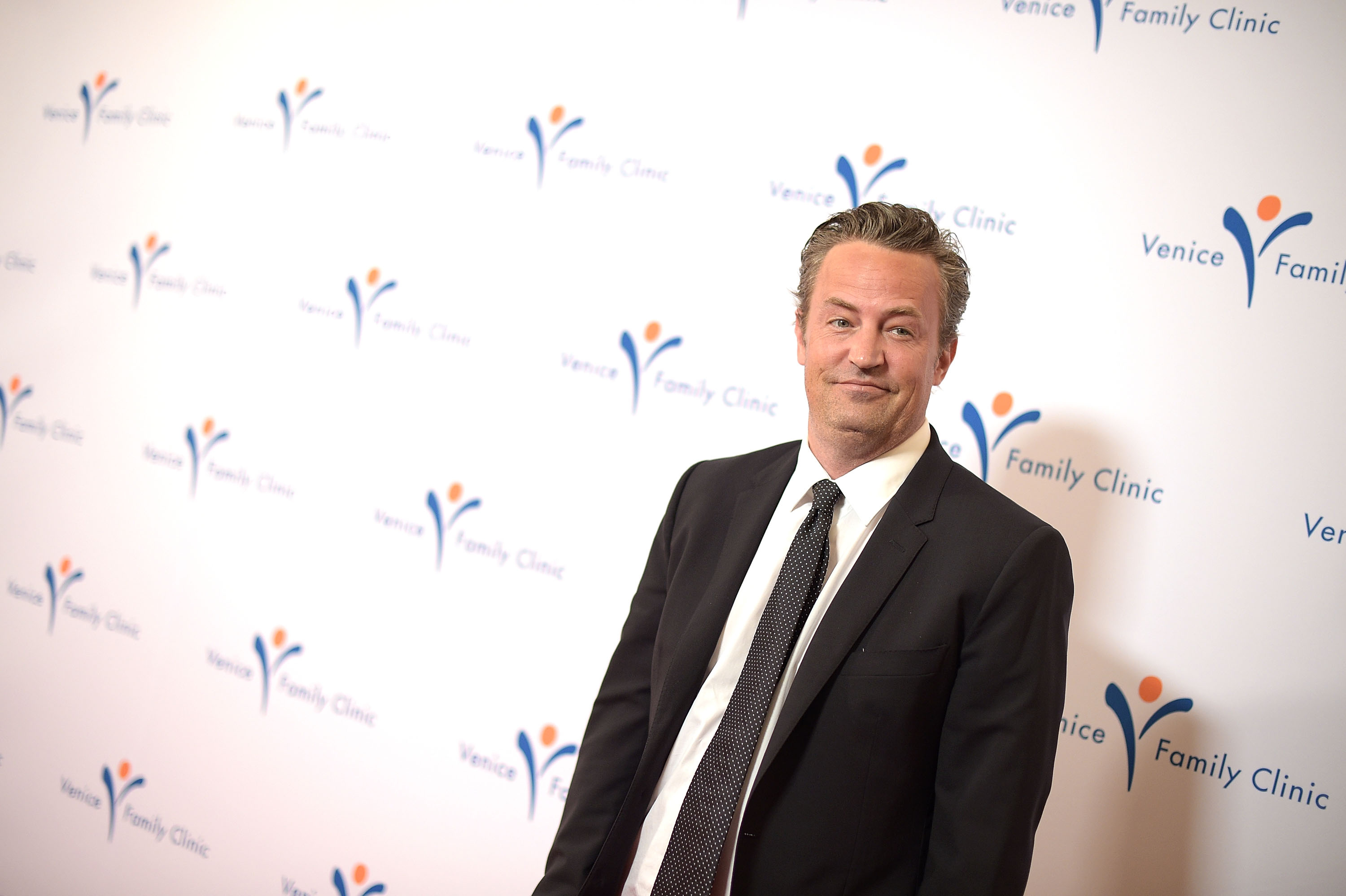 Matthew Perry attends Venice Family Clinic's 33rd Annual Silver Circle Gala at the Beverly Wilshire Four Seasons Hotel on March 9, 2015 in Beverly Hills, California.