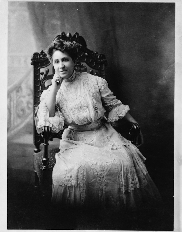Portrait of a young Mary Church Terrell circa 1890