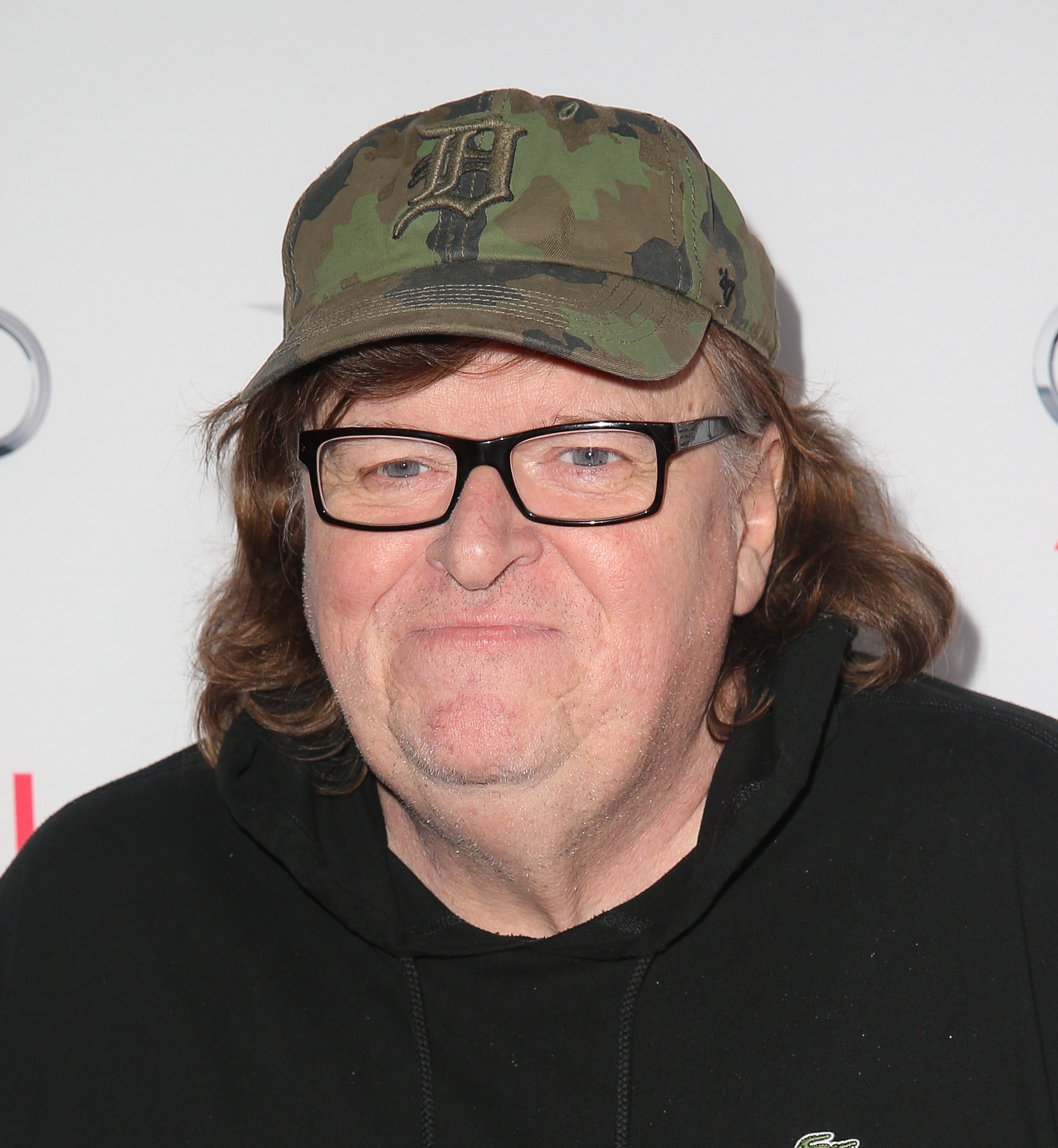 Filmmaker Michael Moore attends the Centerpiece Gala premiere of Dog Eat Dog Films' 'Where To Invade Next' in Hollywood on Nov. 7, 2015.