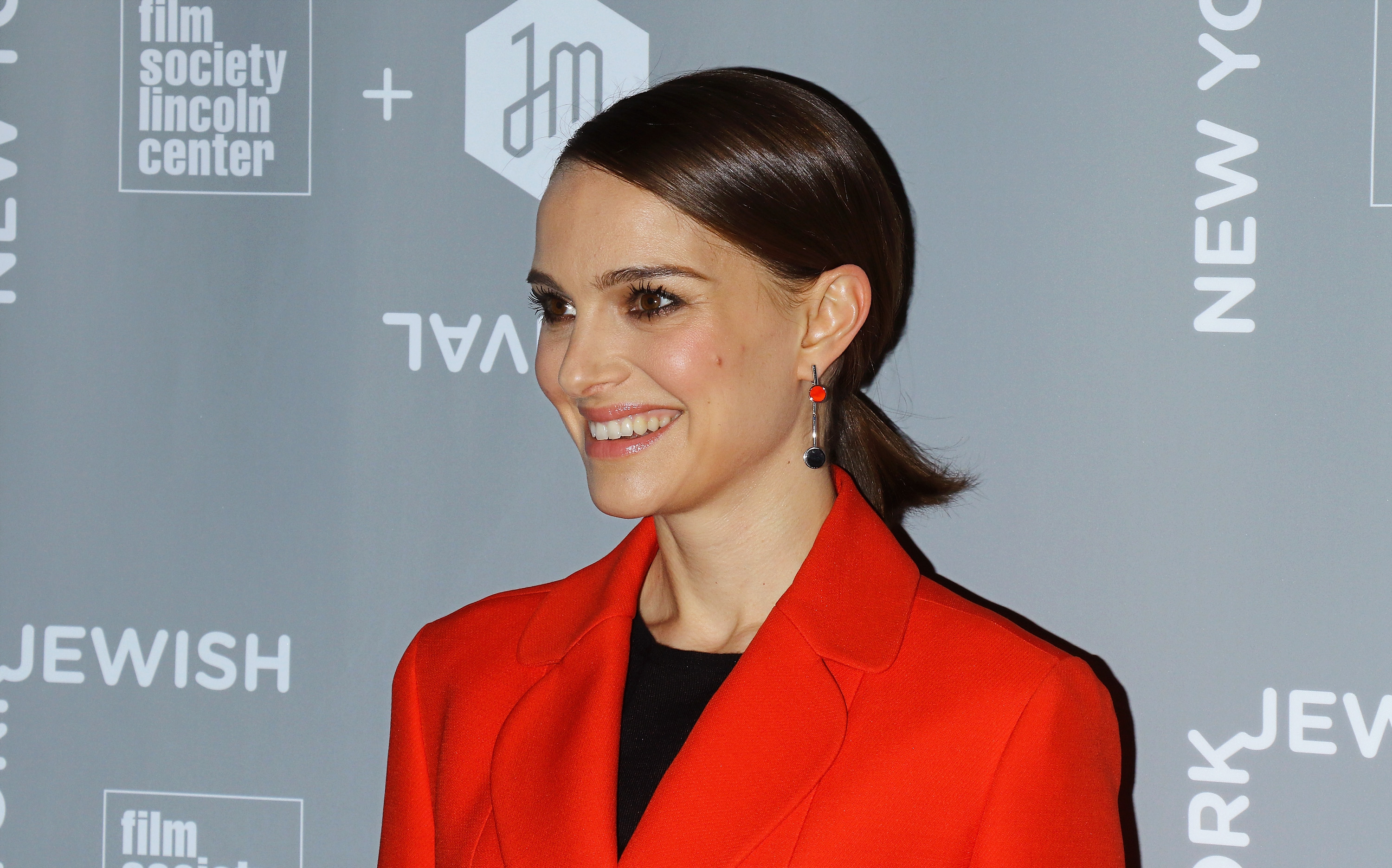 Actress Natalie Portman attends the 2016 New York Jewish Film Festival -  A Tale Of Love And Darkness  closing night screening at Walter Reade Theater on January 26, 2016 in New York City.