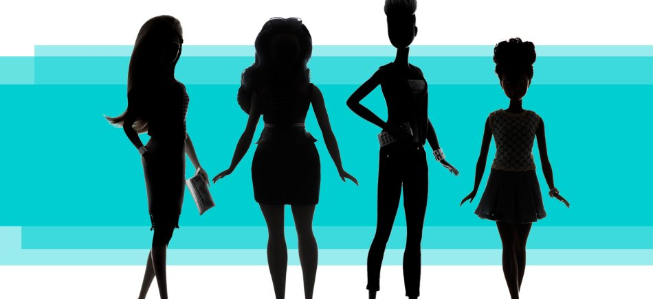 Barbie's new body shape