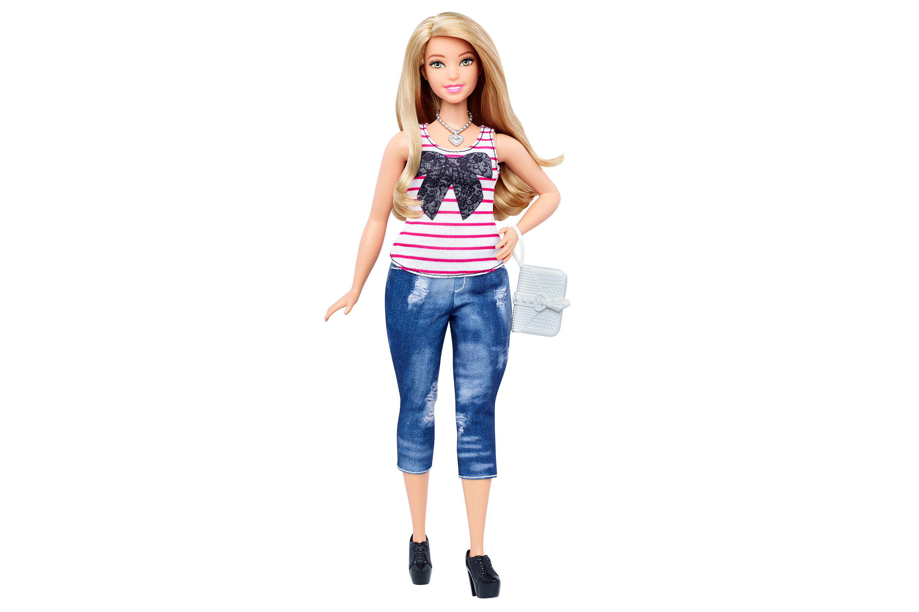 One of Mattel's new Curvy Barbies
