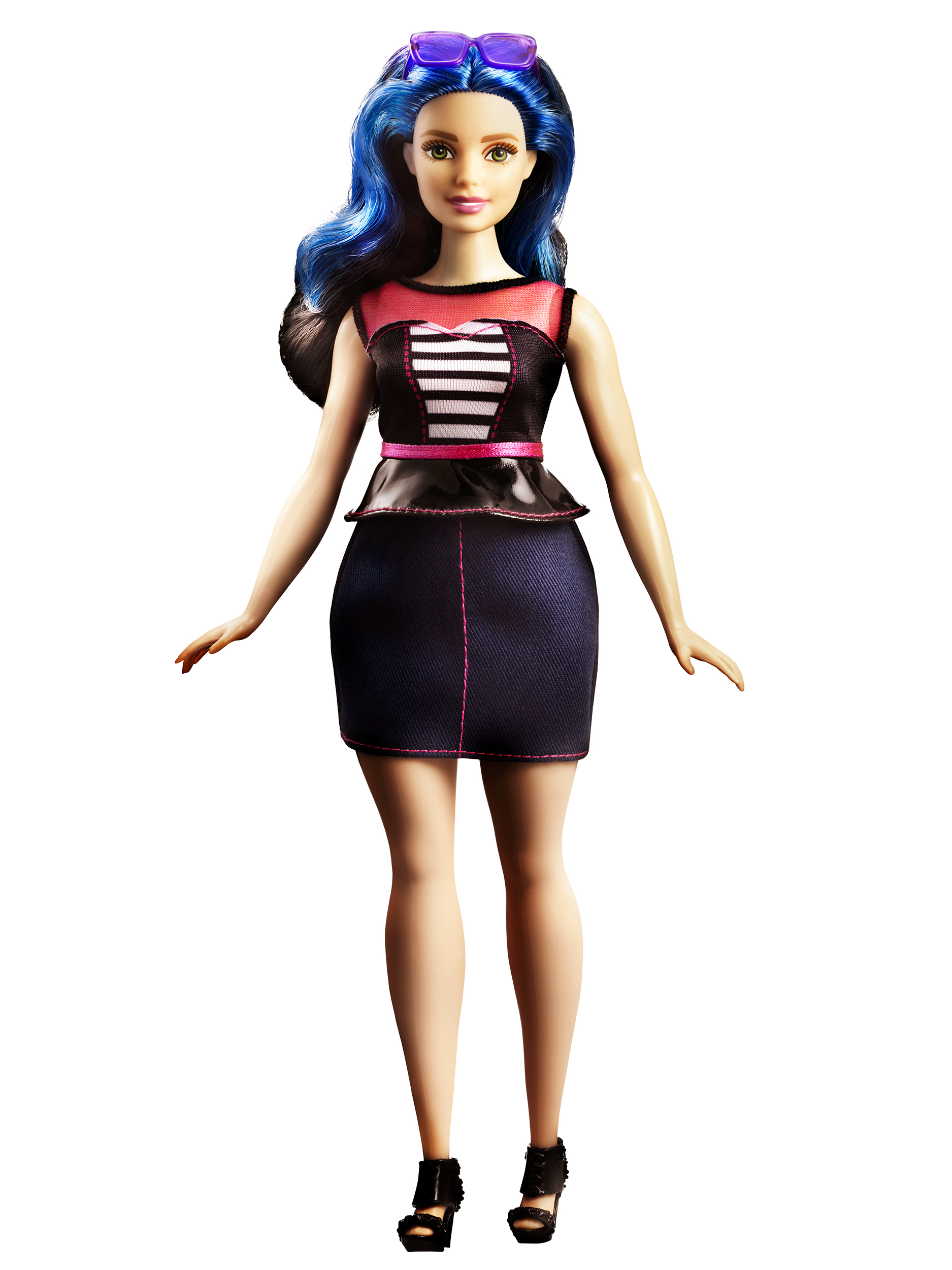 Mattel's new Curvy Barbie