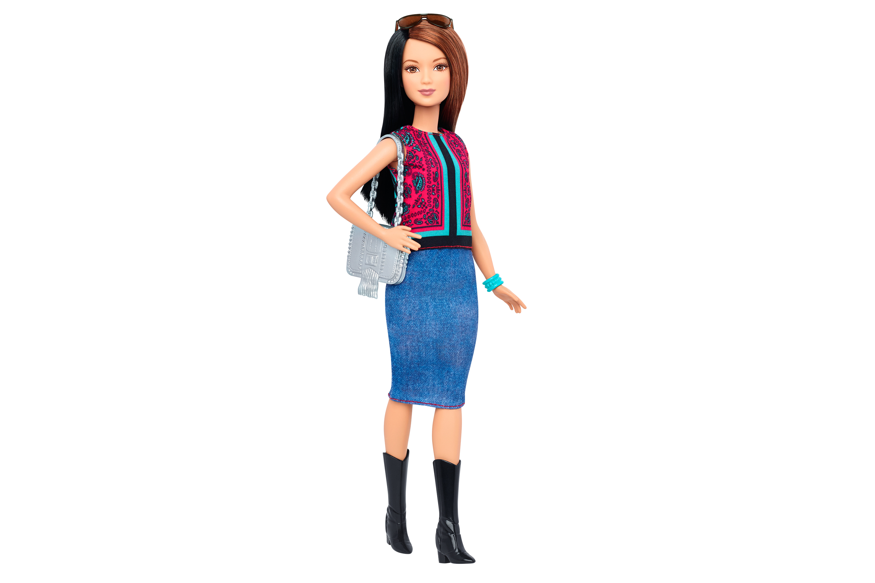One of Mattel's new Petite Barbies