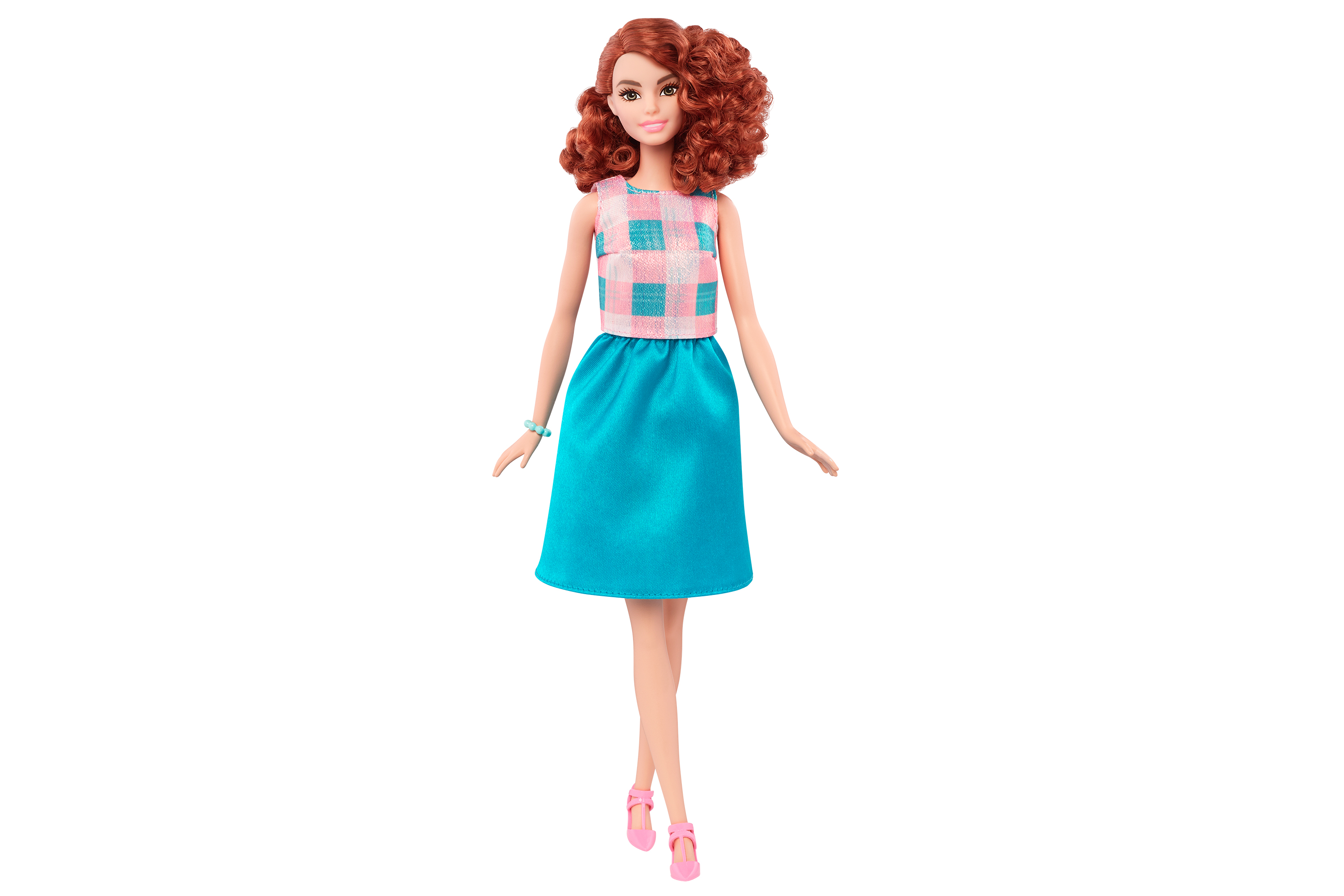 One of Mattel's new Tall Barbies