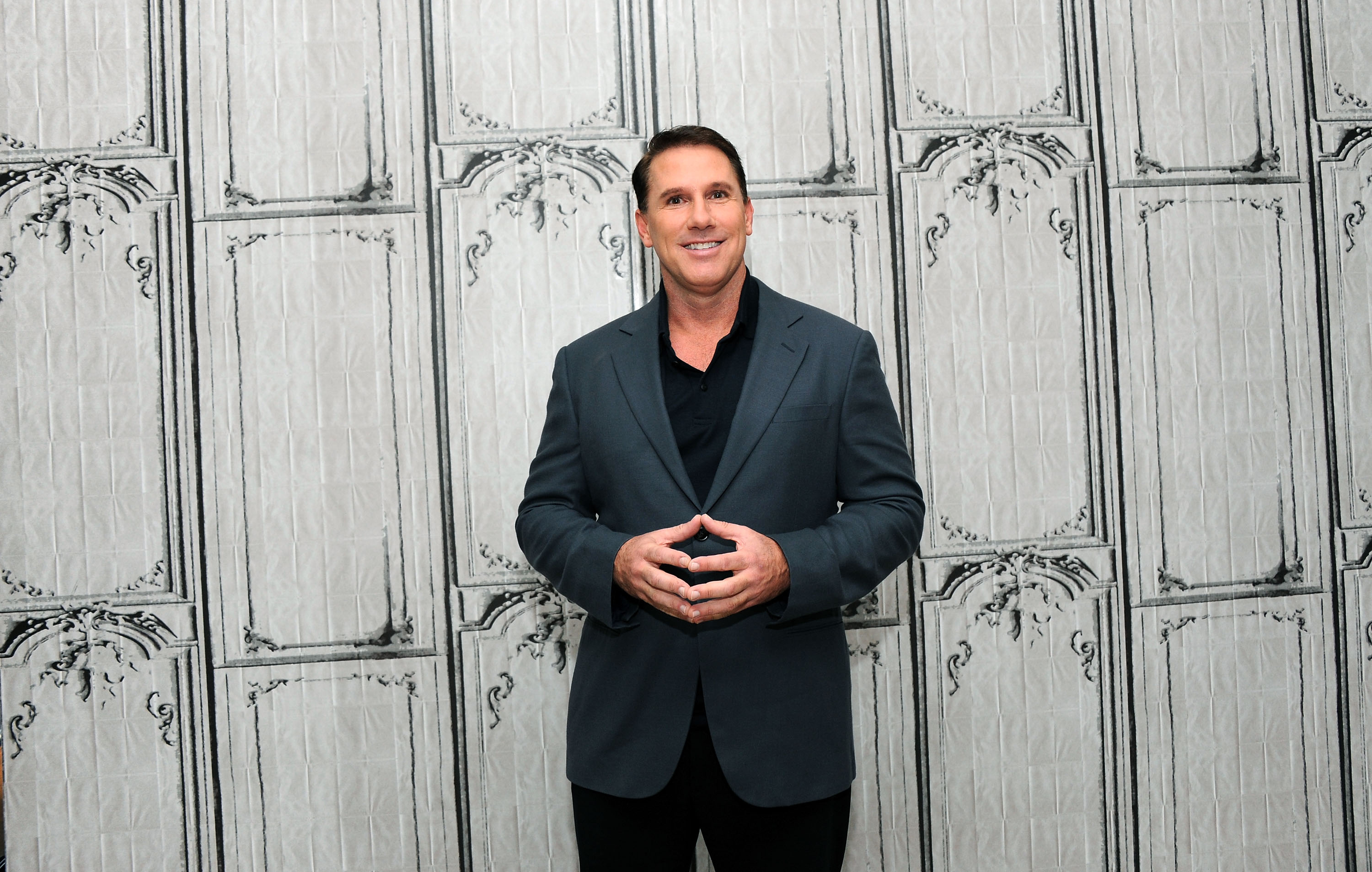 Writer Nicholas Sparks at AOL Studios In New York on October 15, 2015 in New York City.