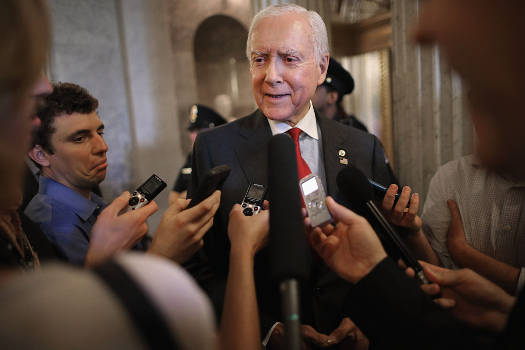 """Utah Sen. Orrin Hatch has been named the """"designated survivor"""" during Tuesday night's State of the Union address."""
