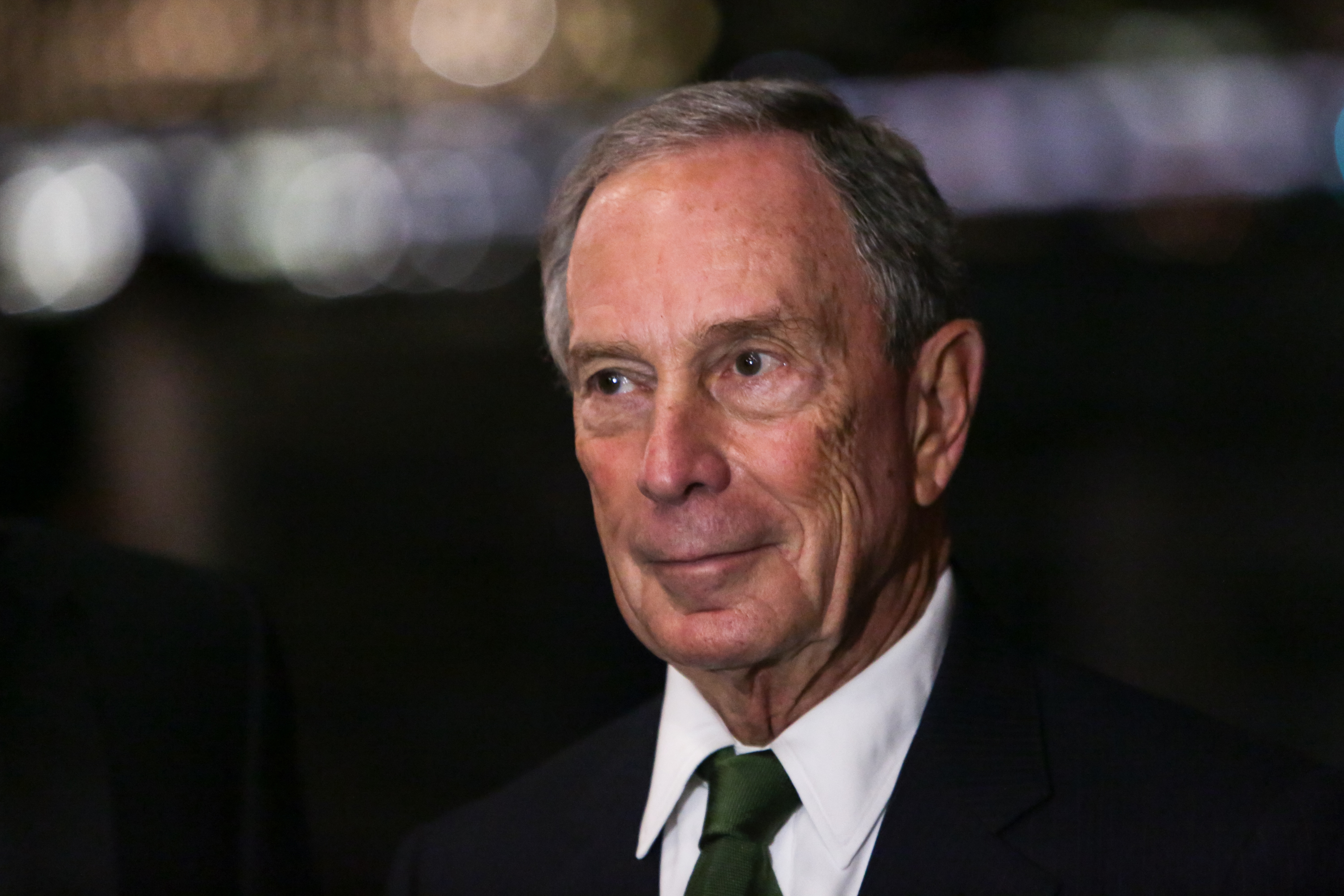 Michael Bloomberg  in New York City on Oct. 8, 2015.