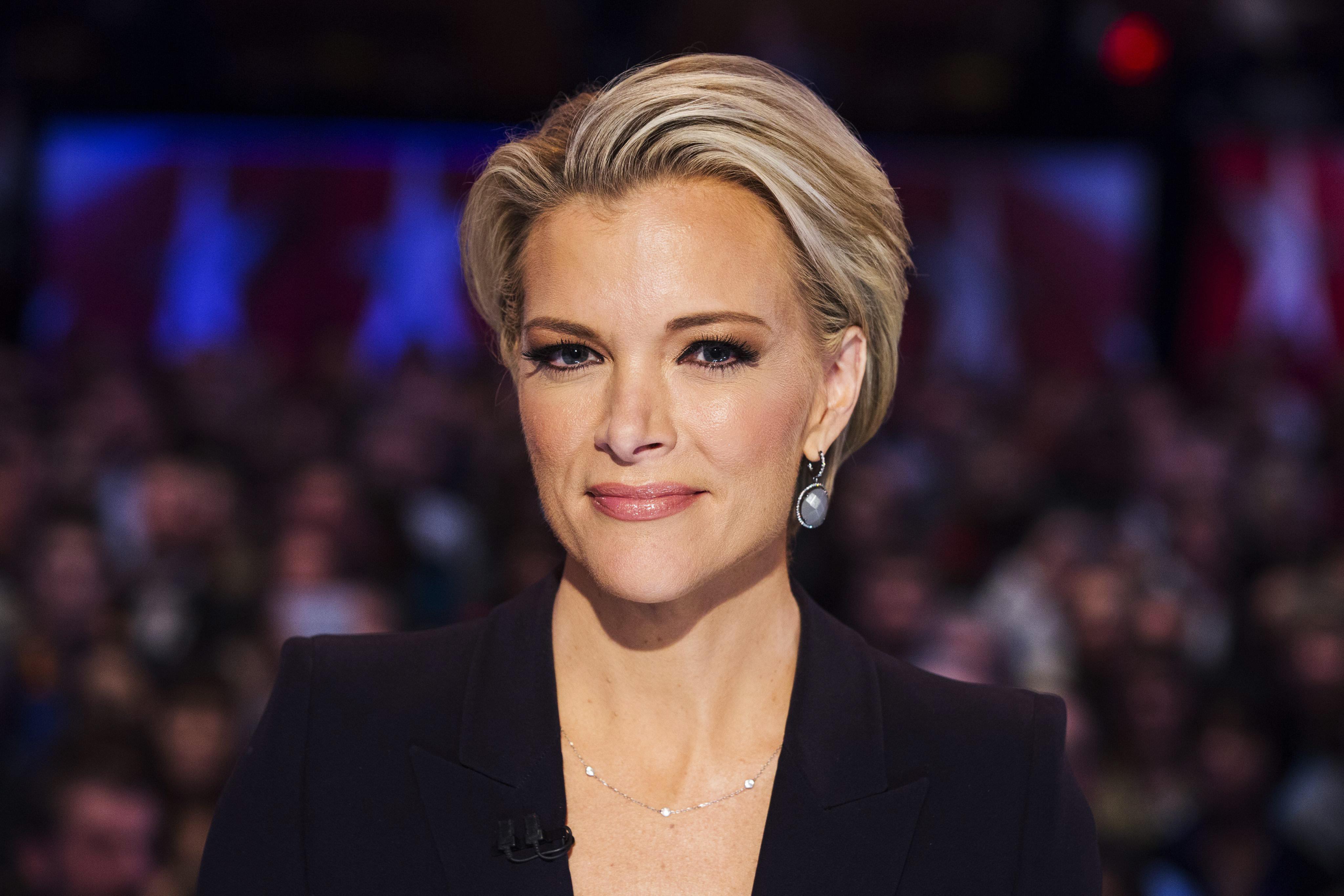 Fox News debate moderator Megyn Kelly at the Republican presidential debate Thursday, Jan. 28, 2016, in Des Moines, Iowa.