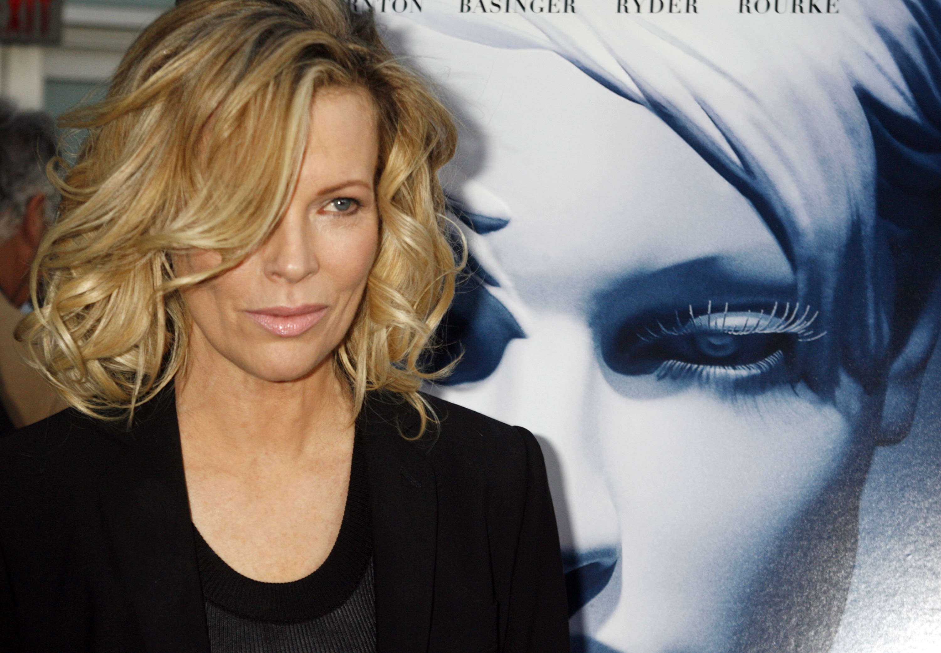 Actress Kim Basinger at  The Informers  premiere in Hollywood, Calif. April 16, 2009