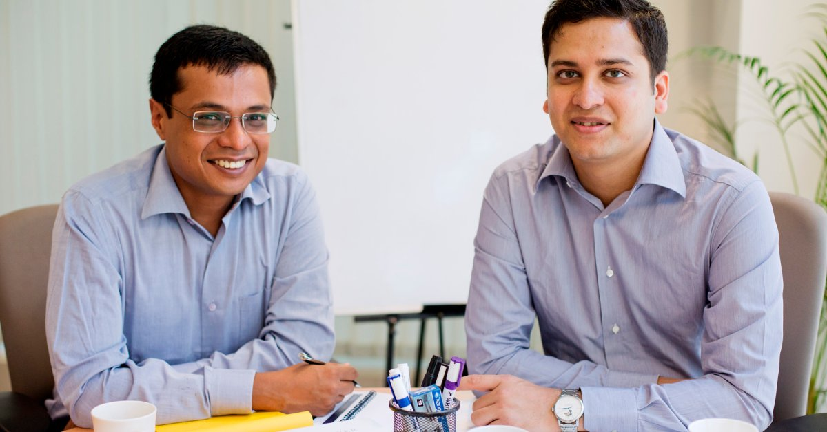 Binny Bansal and Sachin Bansal