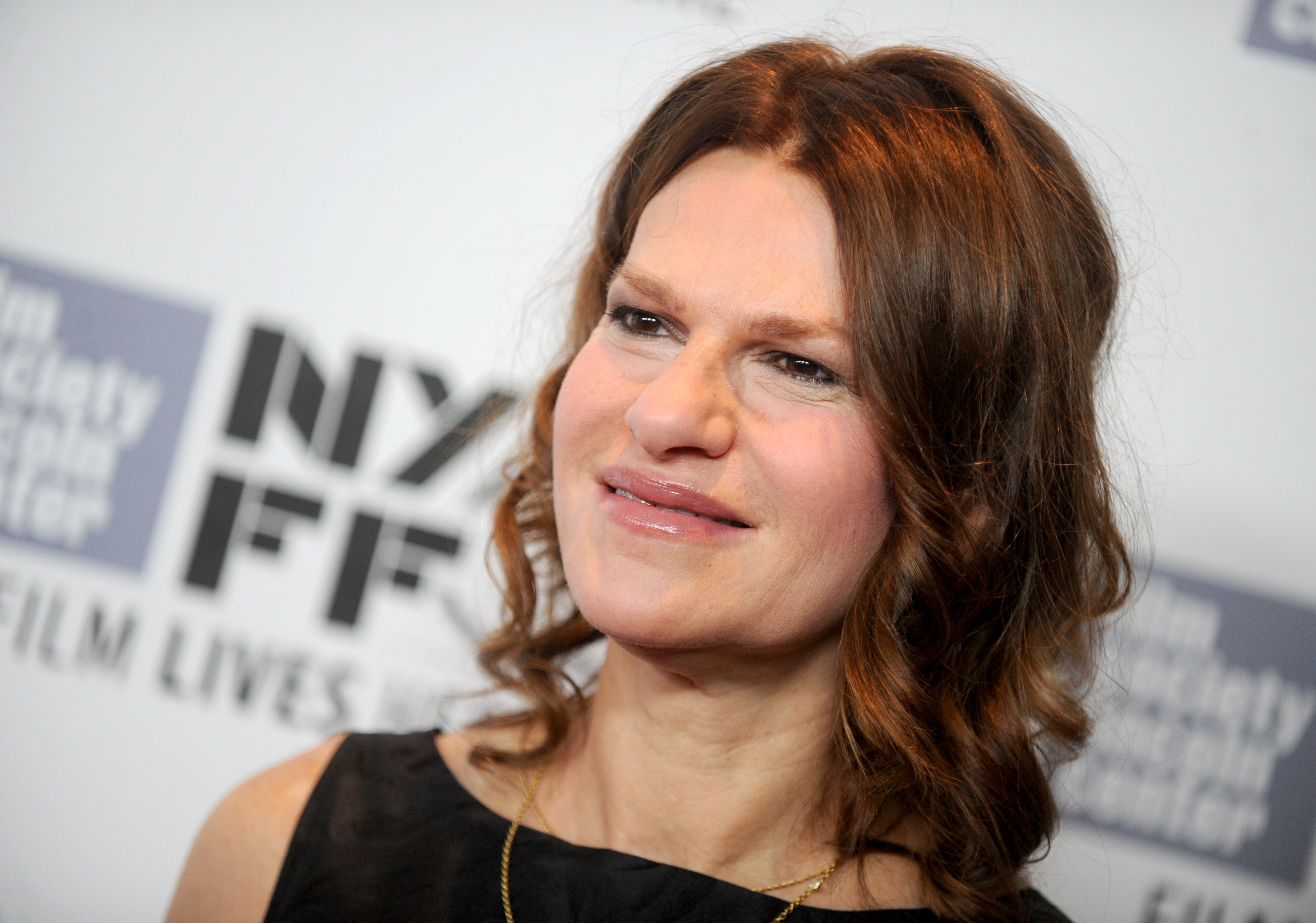 Sandra Bernhard attends the 53rd New York Film Festival premiere of Carol at Alice Tully Hall in New York City on Oct. 9, 2015.